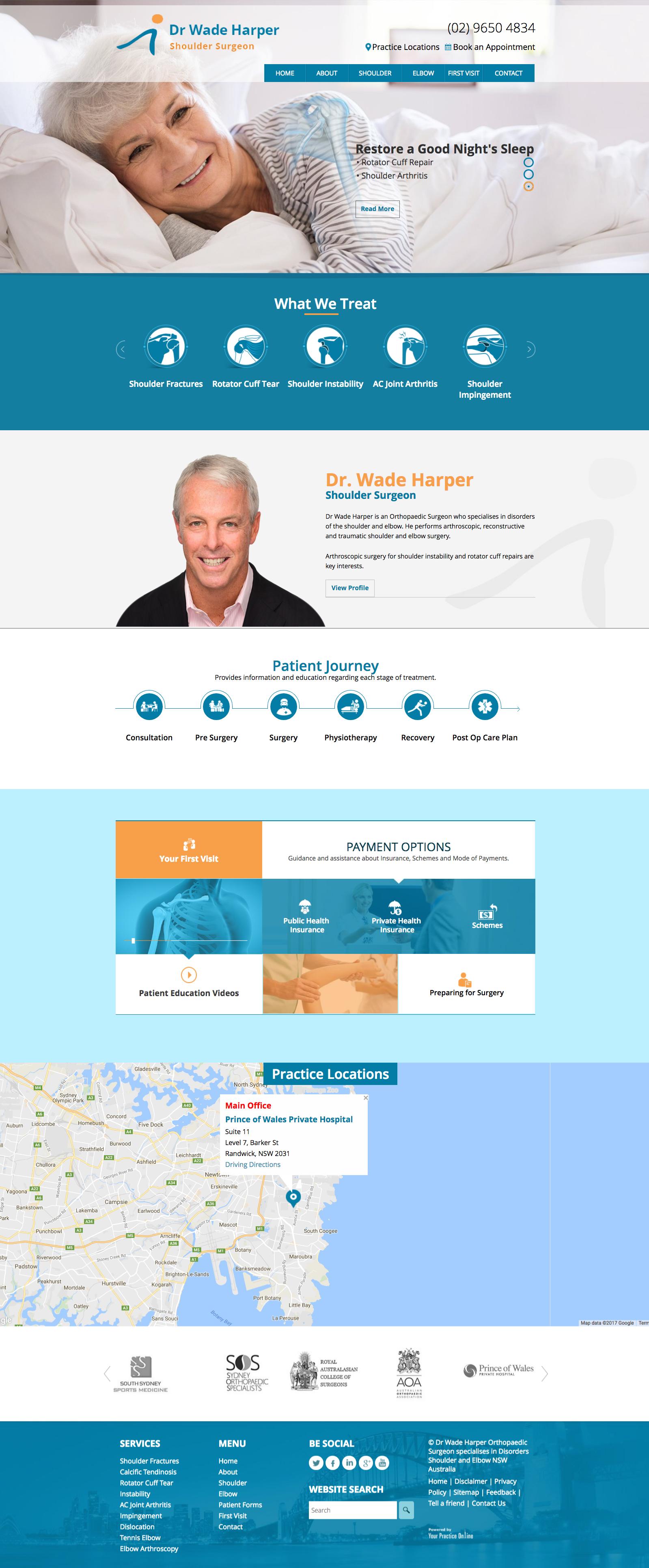 website-design-for-surgeons-sydney