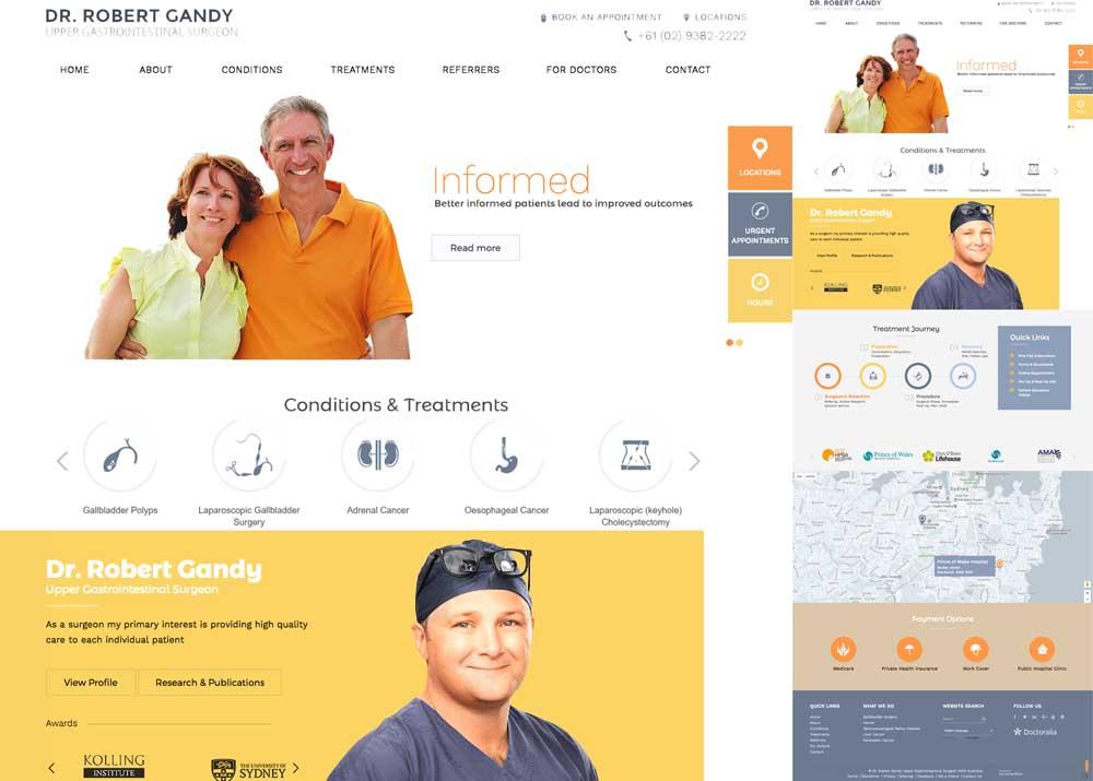 Medical Website for Sydney Surgeon.jpg