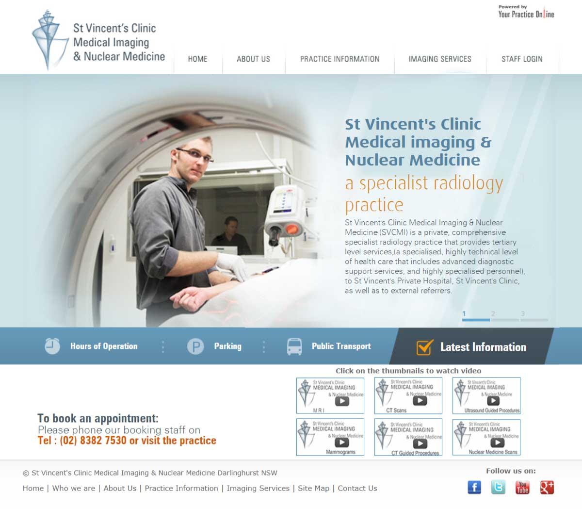Radiologist Website Sydney