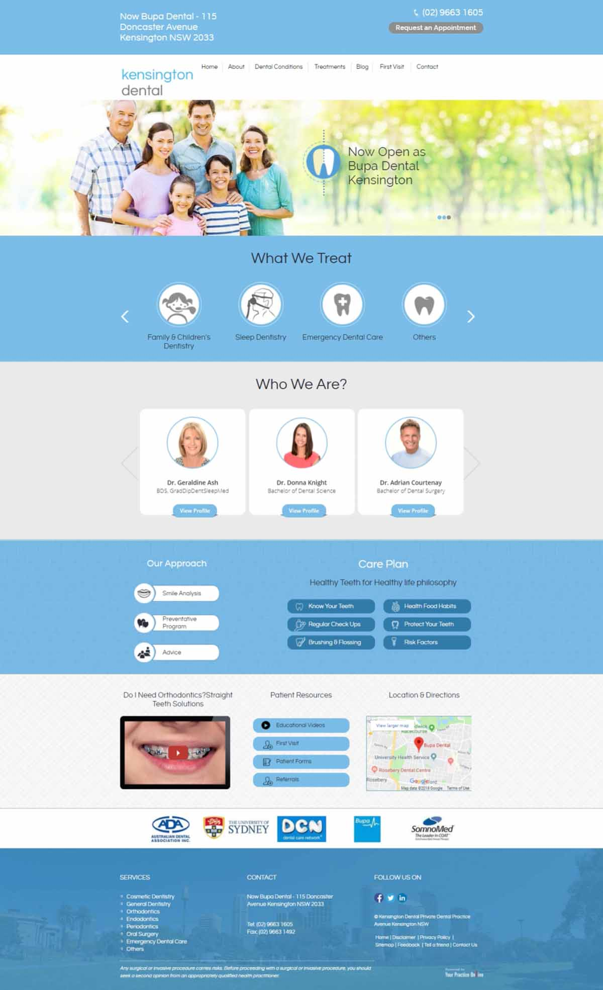 General Dentistry Website Sydney