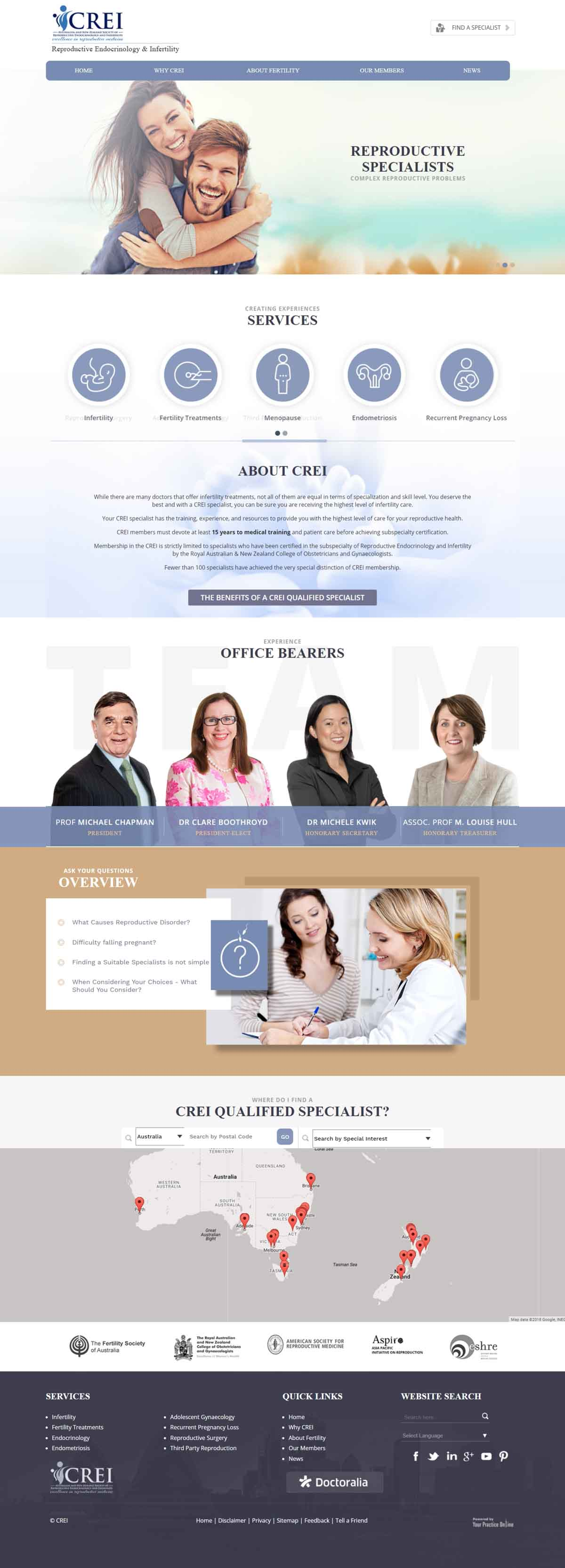 Fertility Specialist Website Australia