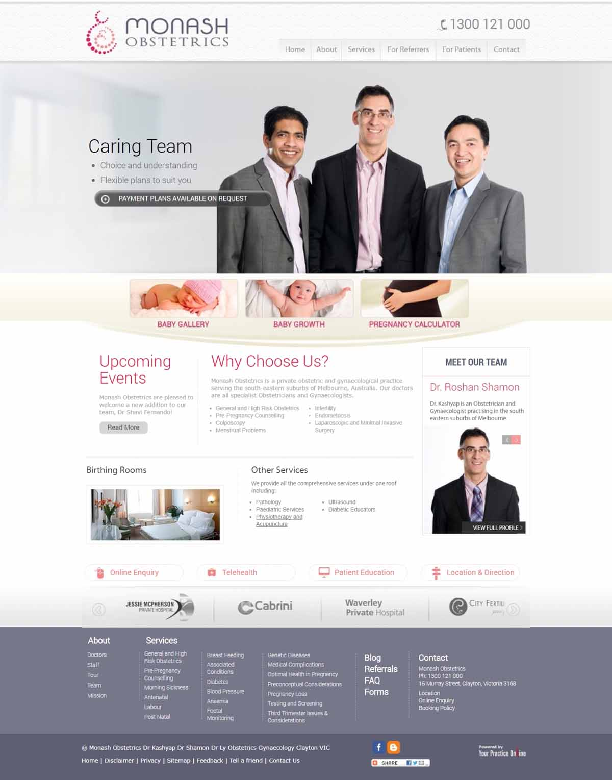 Obstetricians & Gynaecologists Website Melbourne