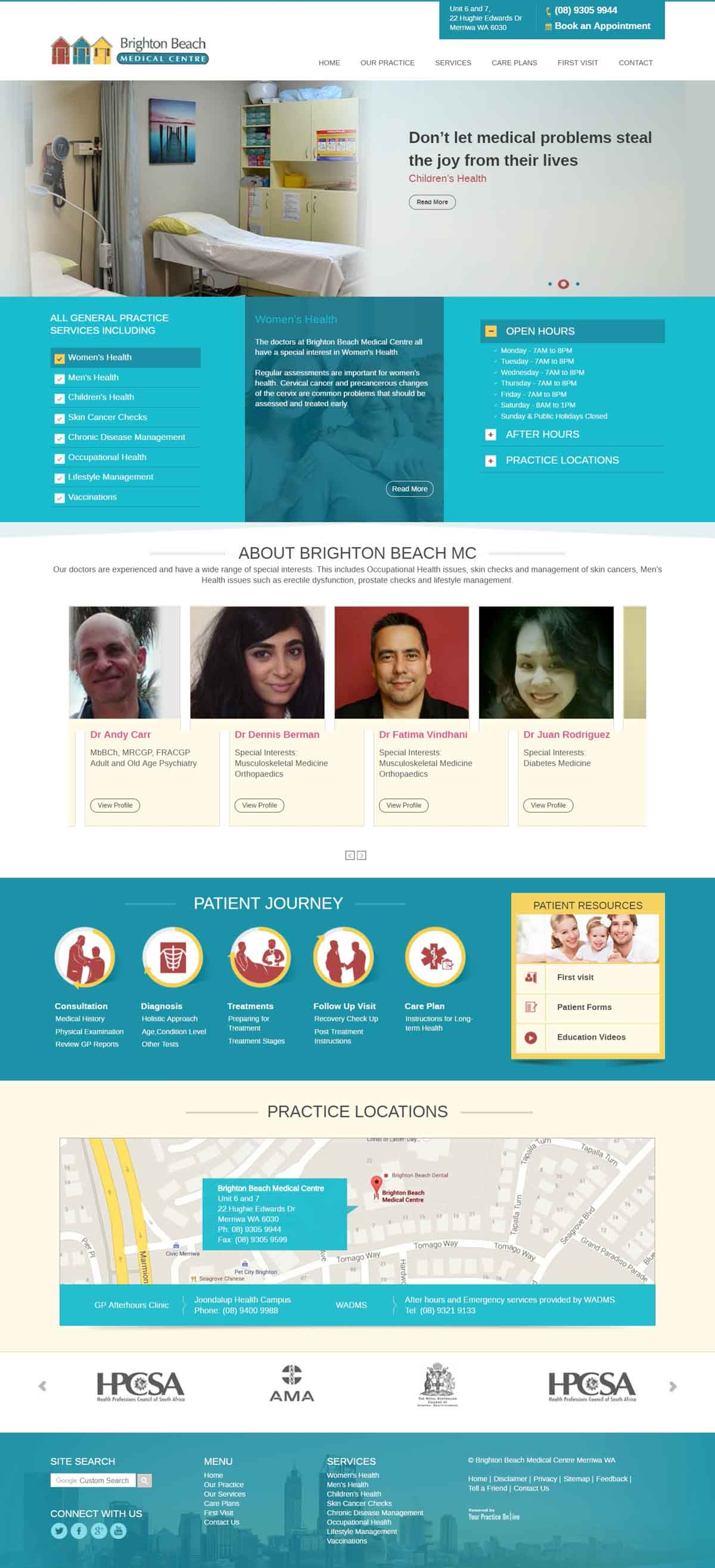 Medical Centre General Practice Website