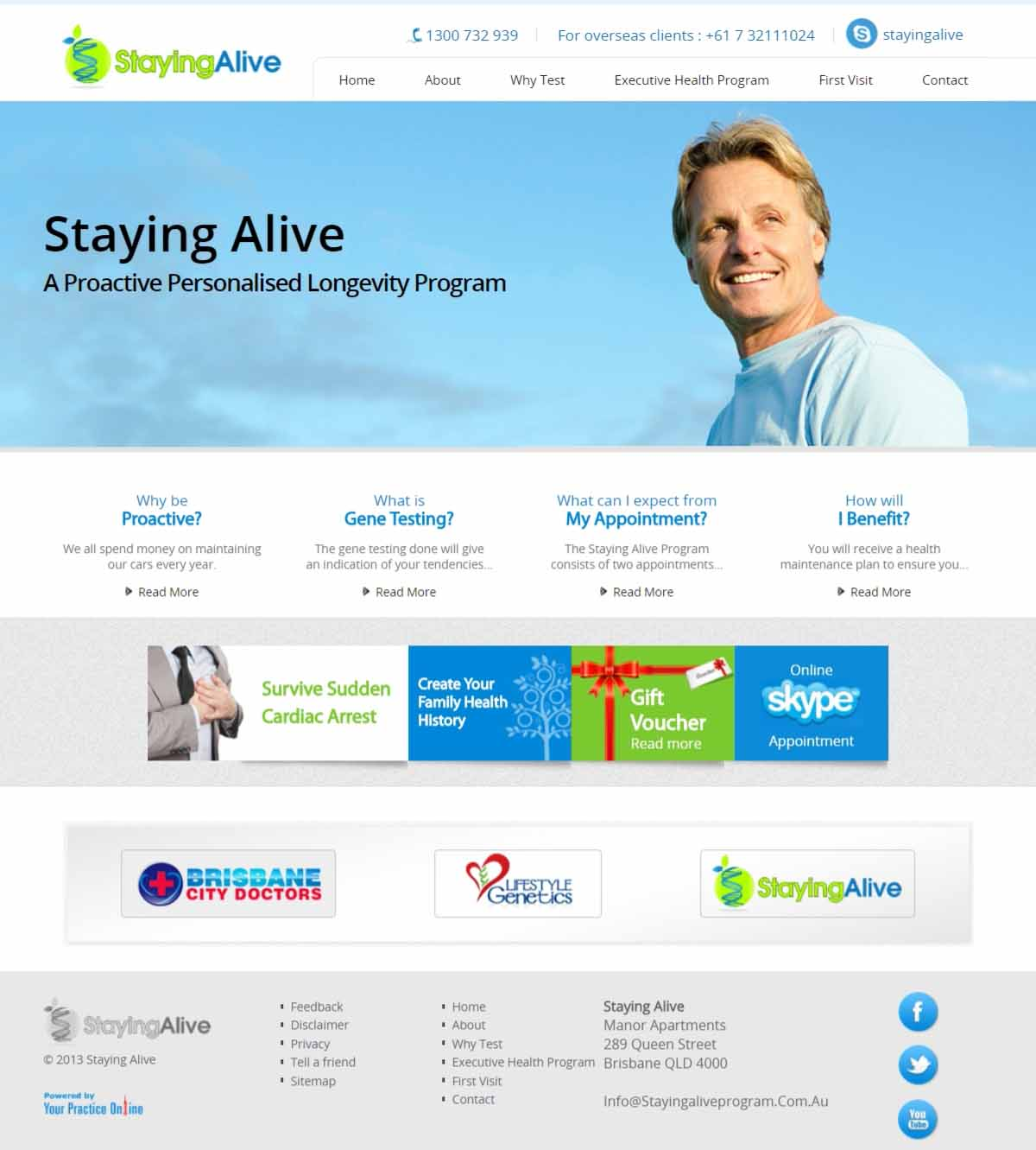 Brisbane General Practice Website