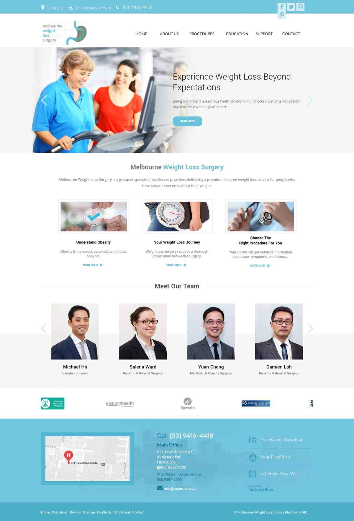 Weight Loss Surgeons Website Melbourne