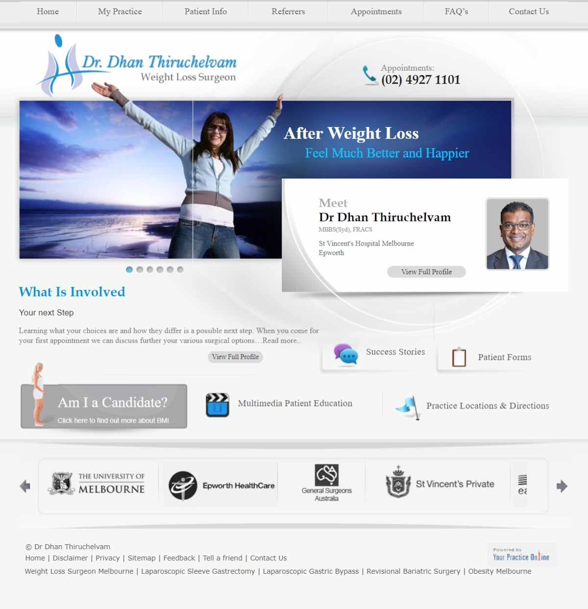 Bariatric & Obesity Surgeon Website Melbourne