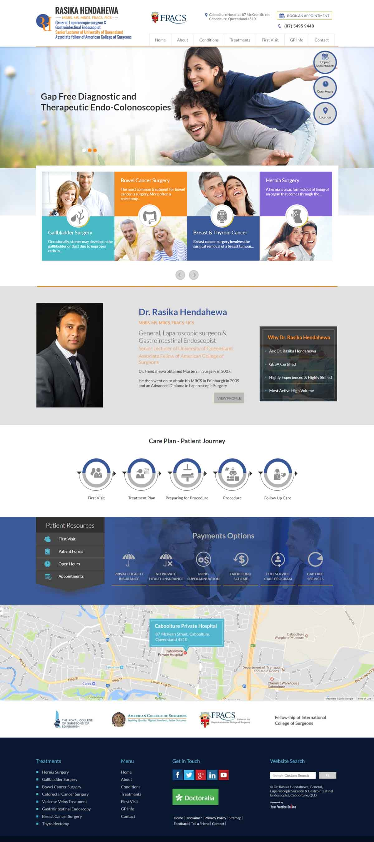 General Surgeon & Gastrointestinal Endoscopist Website