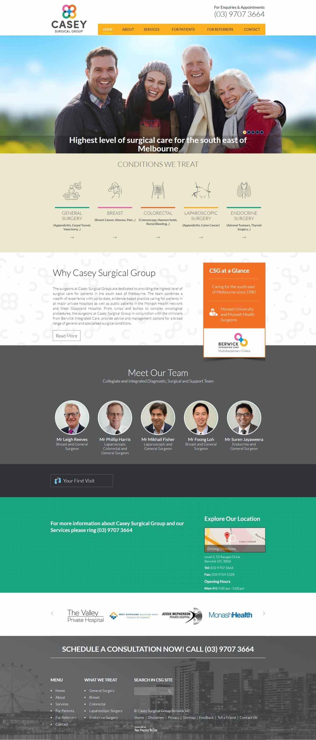 Melbourne General Surgeon Website