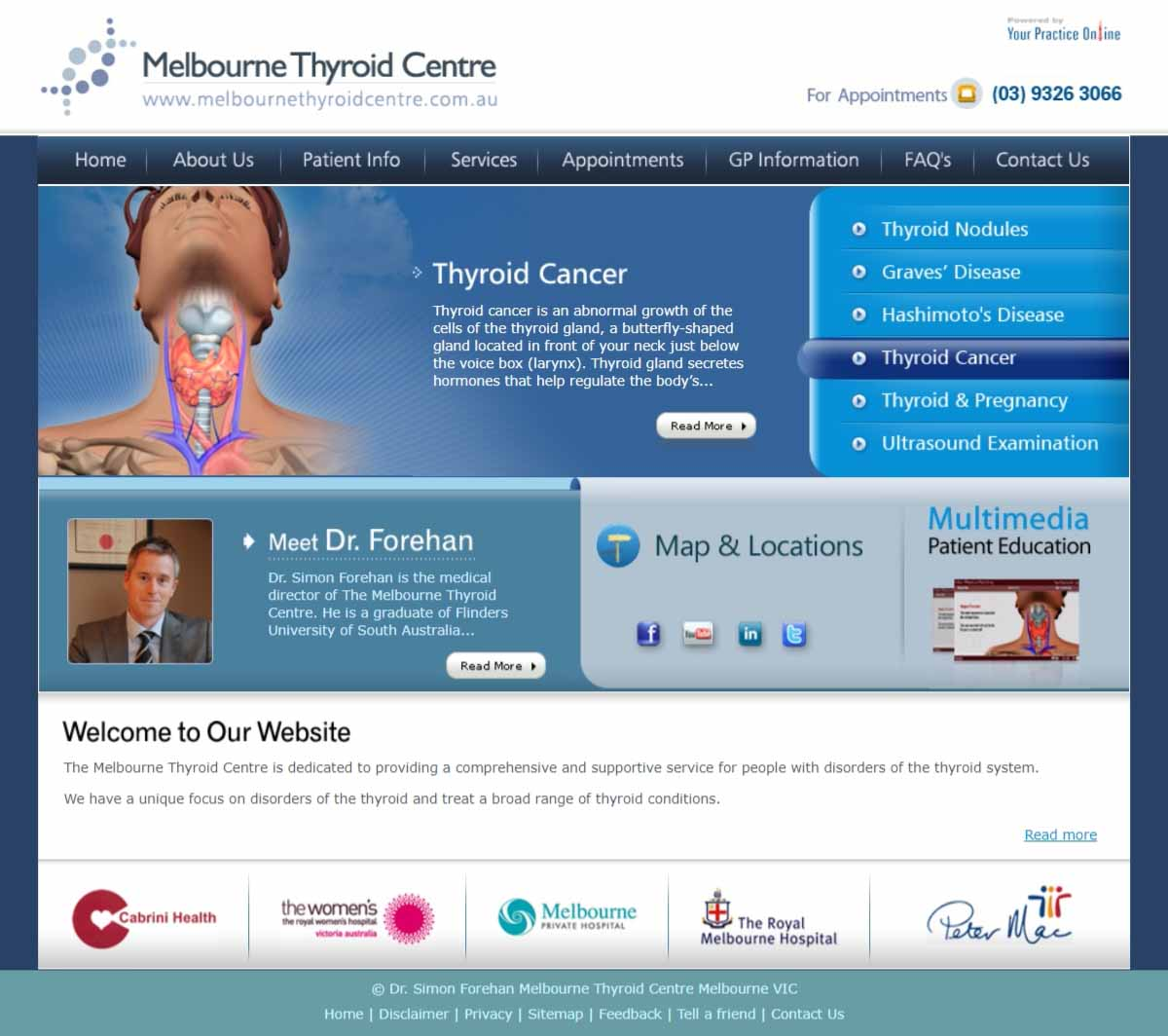 Melbourne Thyroid & General Surgery Website