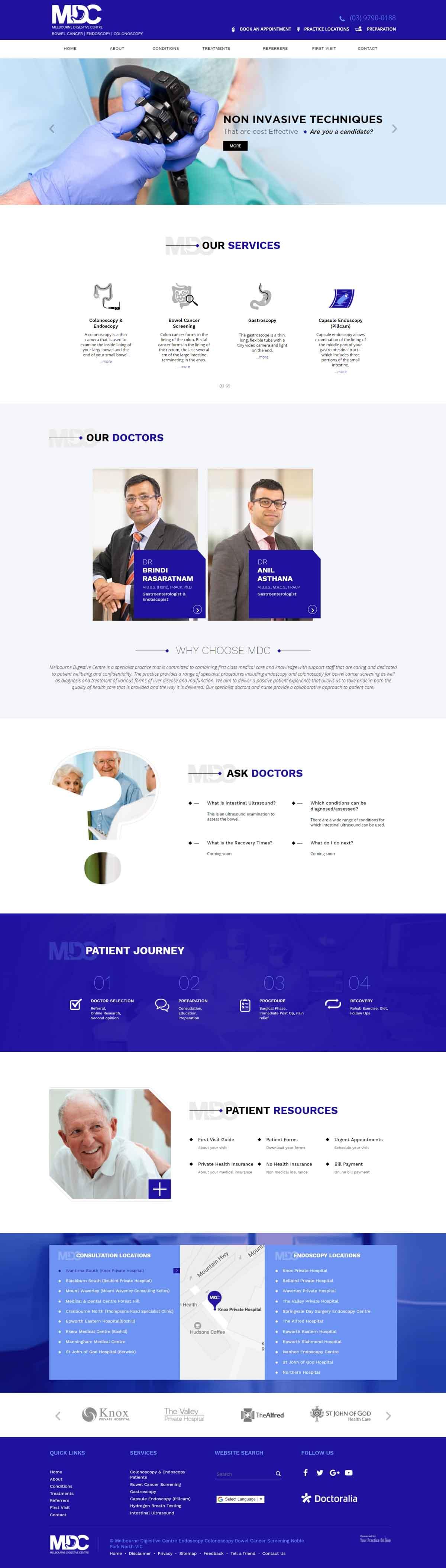 Melbourne Bowel Cancer & General Surgery Website