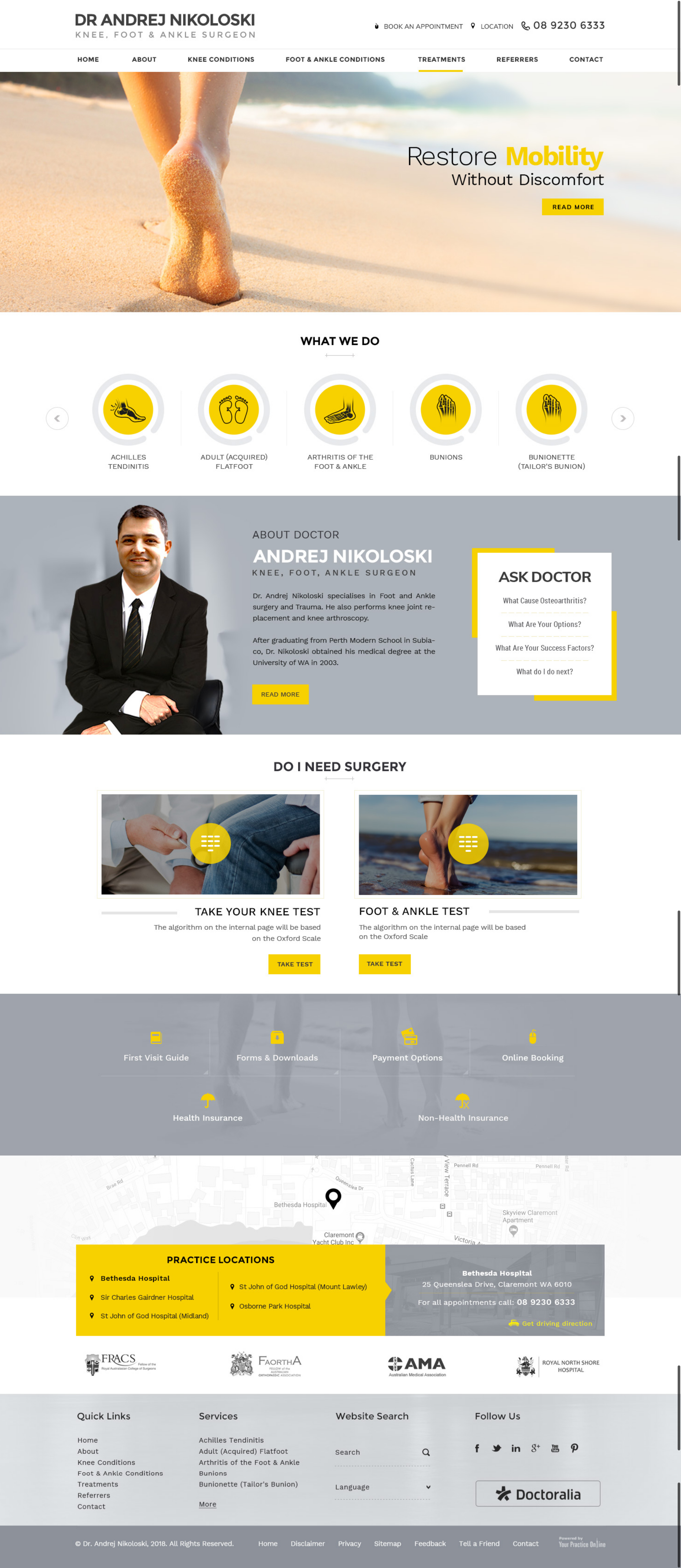 Website Design For General Practitioners Medical Websites Content Writing Medical Marketing For Doctors