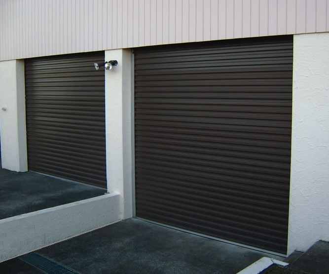 Commercial Roller Doors (one click on image to enlarge)
