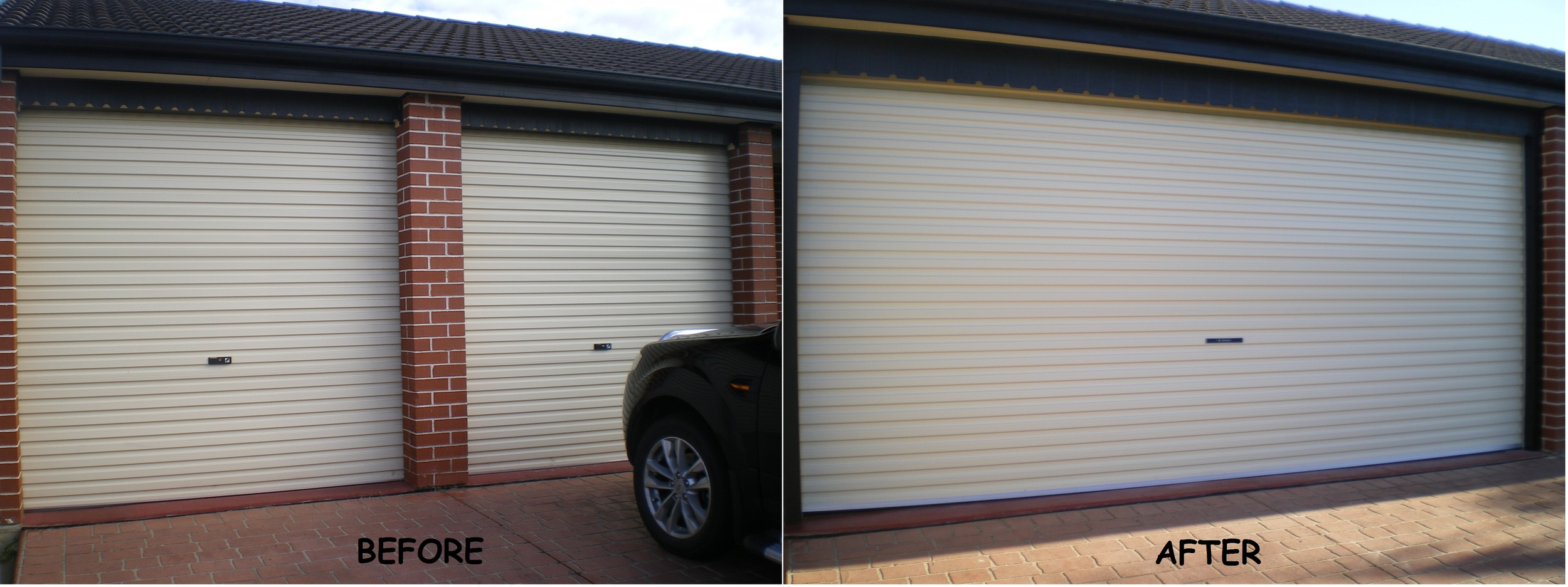 JOB SPECIFICATION TO TAKE DOWN TWO ROLLER DOORS AND CENTRE PIER AND REPLACE WITH SINGLE WIDTH ROLLER DOOR