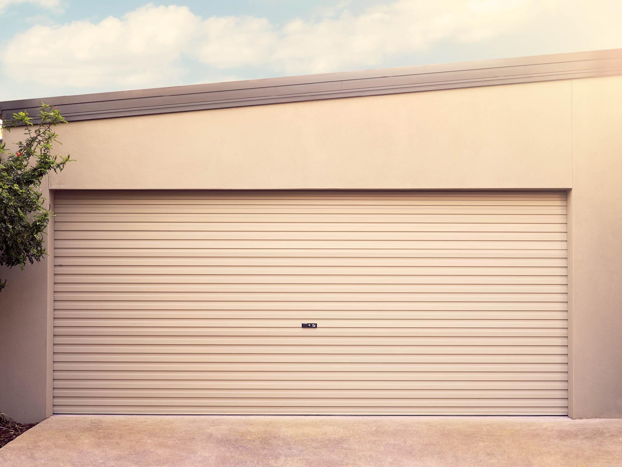 double width roller door