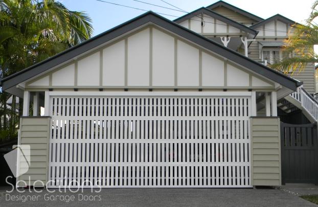 Selections Batten Door vertical slat