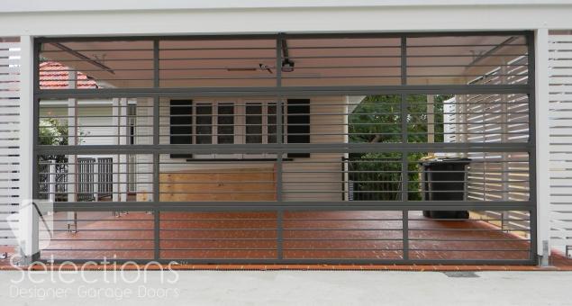 Selections 19mm bar panel sectional door
