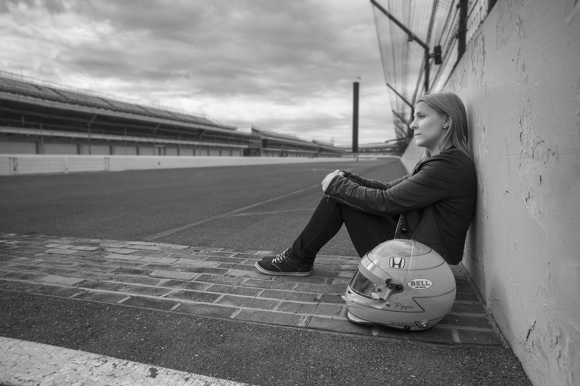 Pippa Mann IndyCar driver