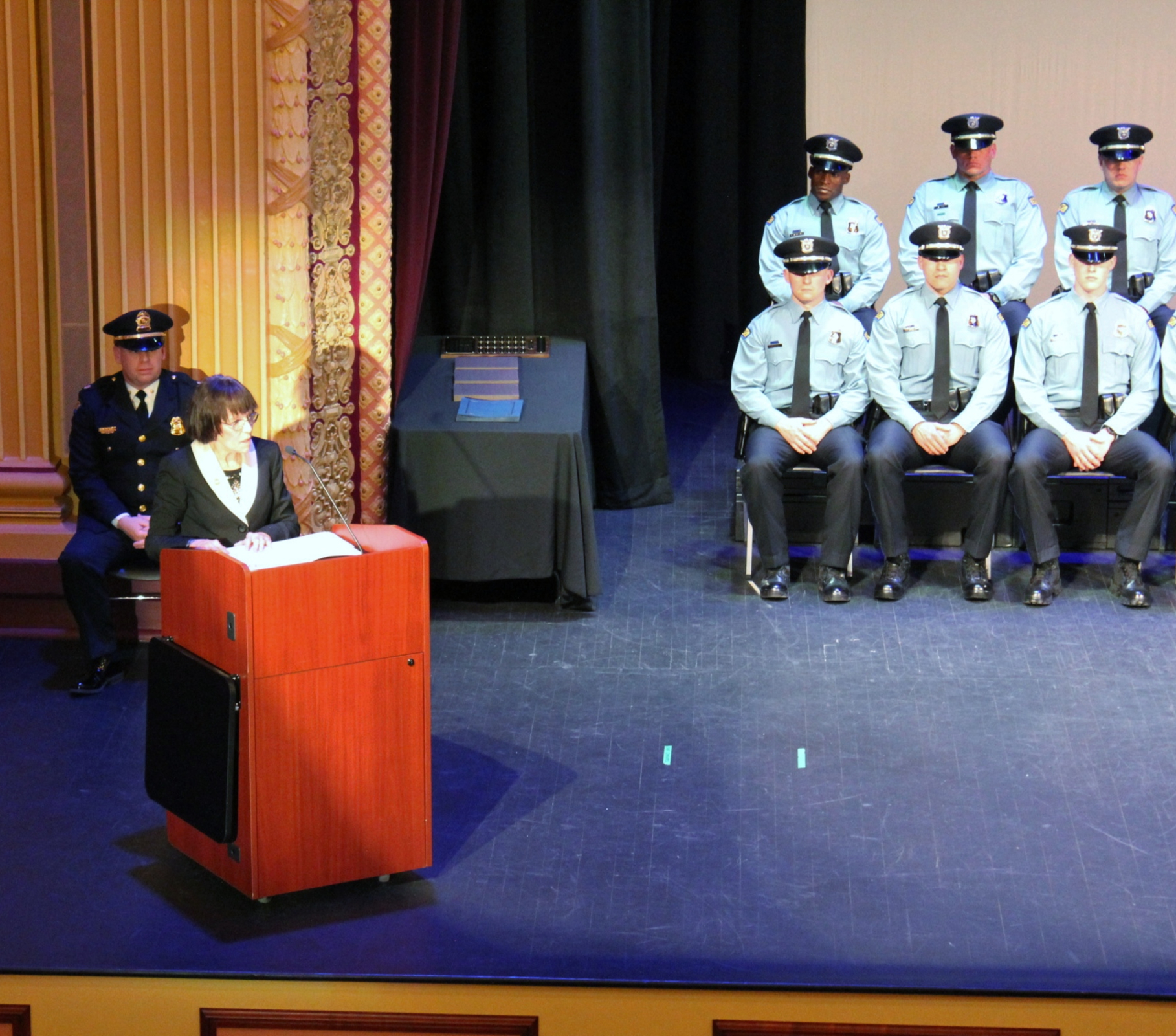 Police Academy Graduation Speech:  The hardest job you will ever love [click image for article] or  click here for PDF  2019