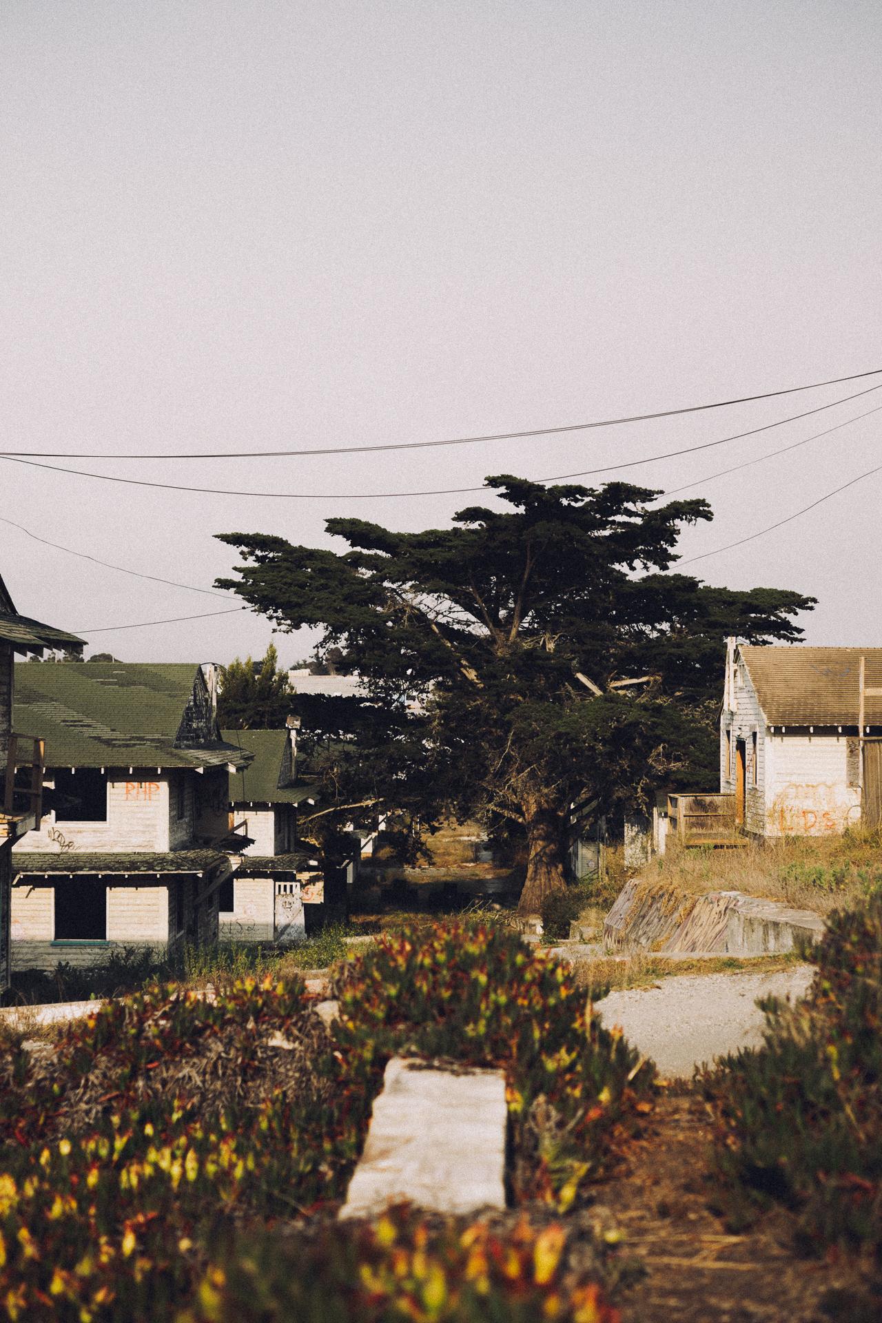 Blocks and blocks of barracks