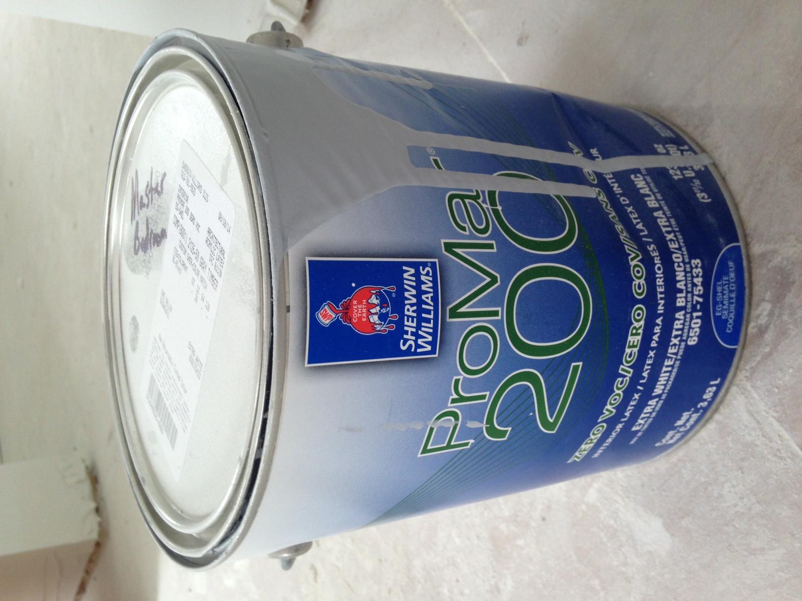 Zero VOC paint