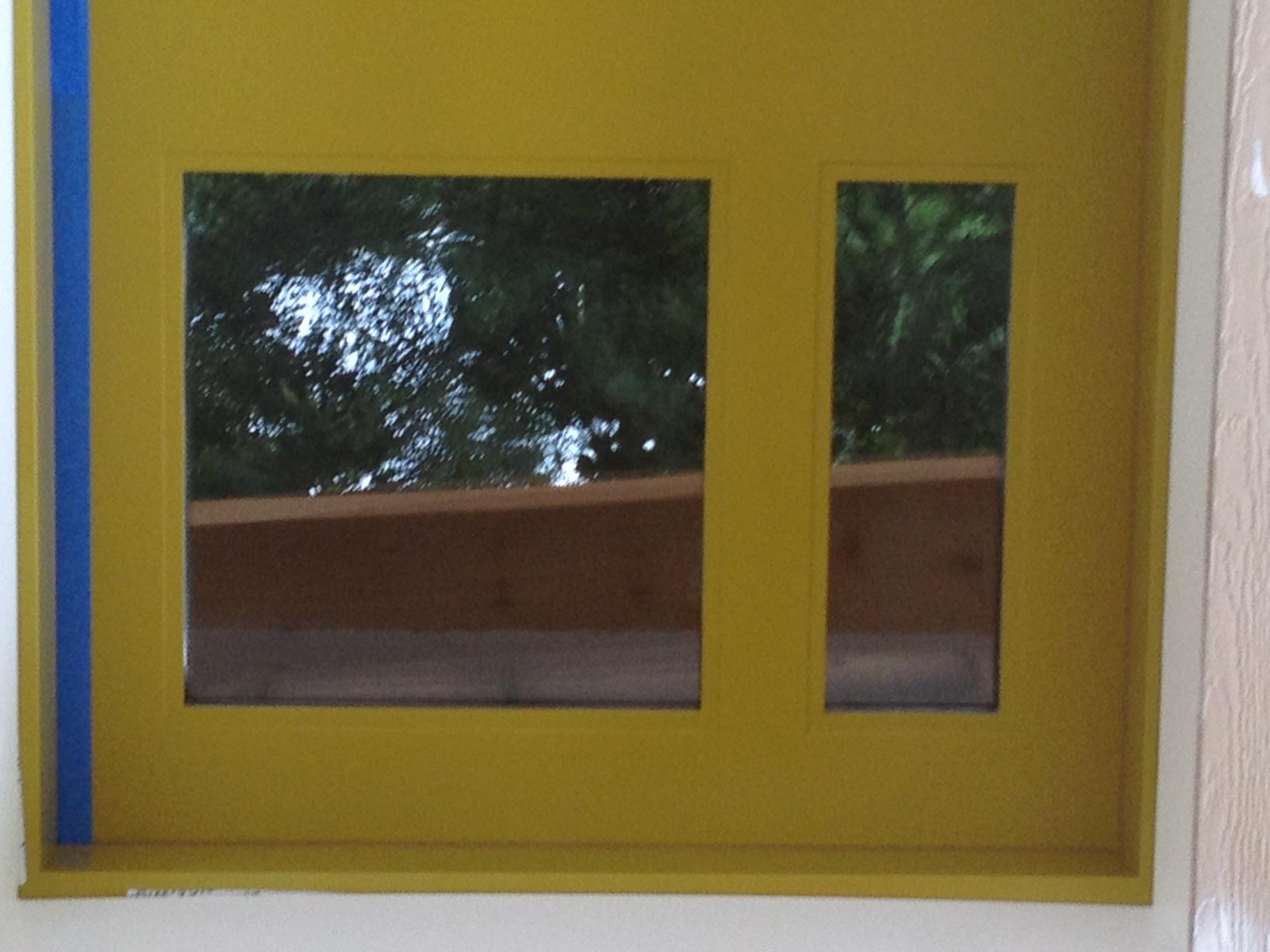 Custom door- designed by us!