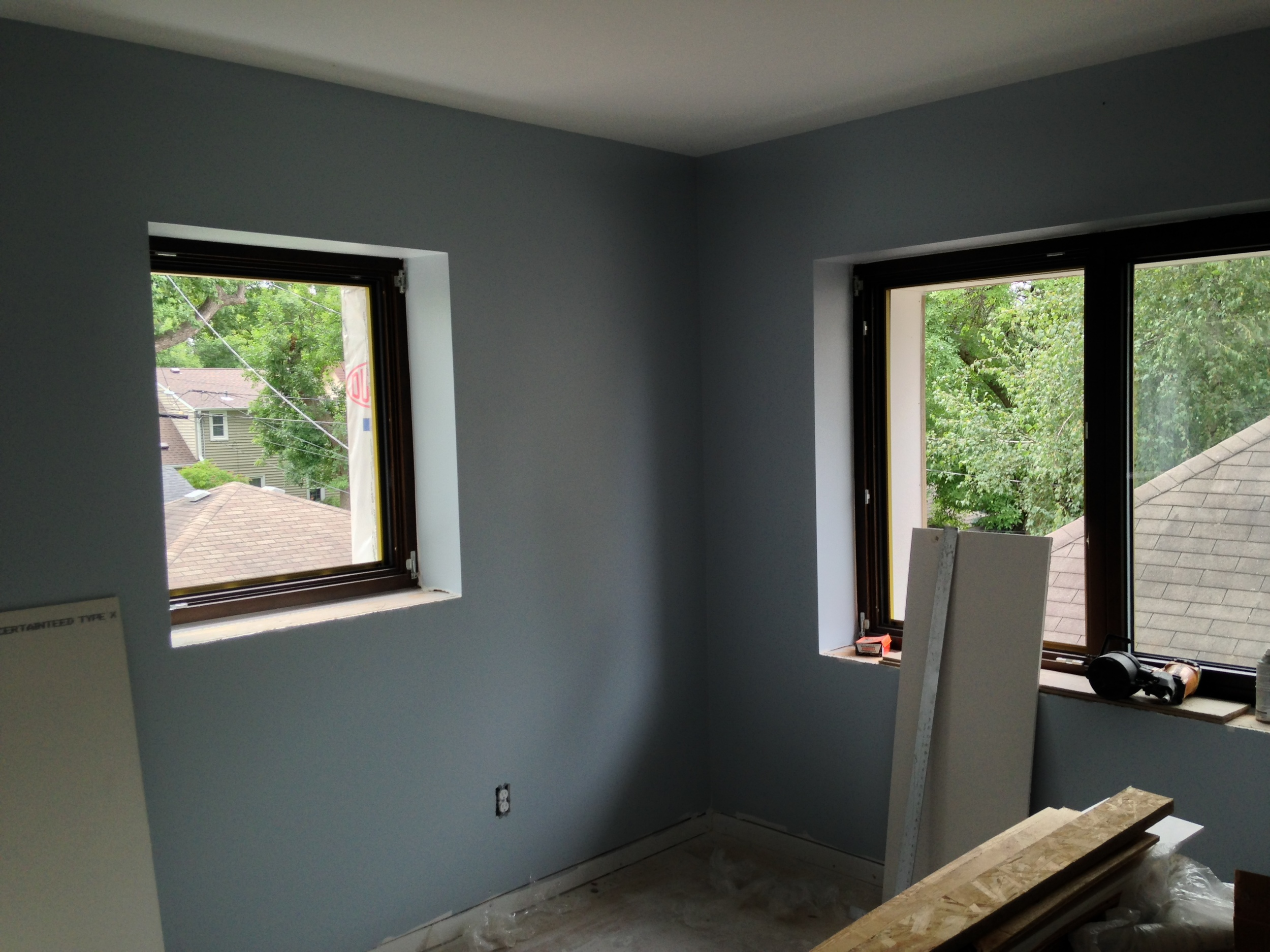 Blue/Gray in the boys' room