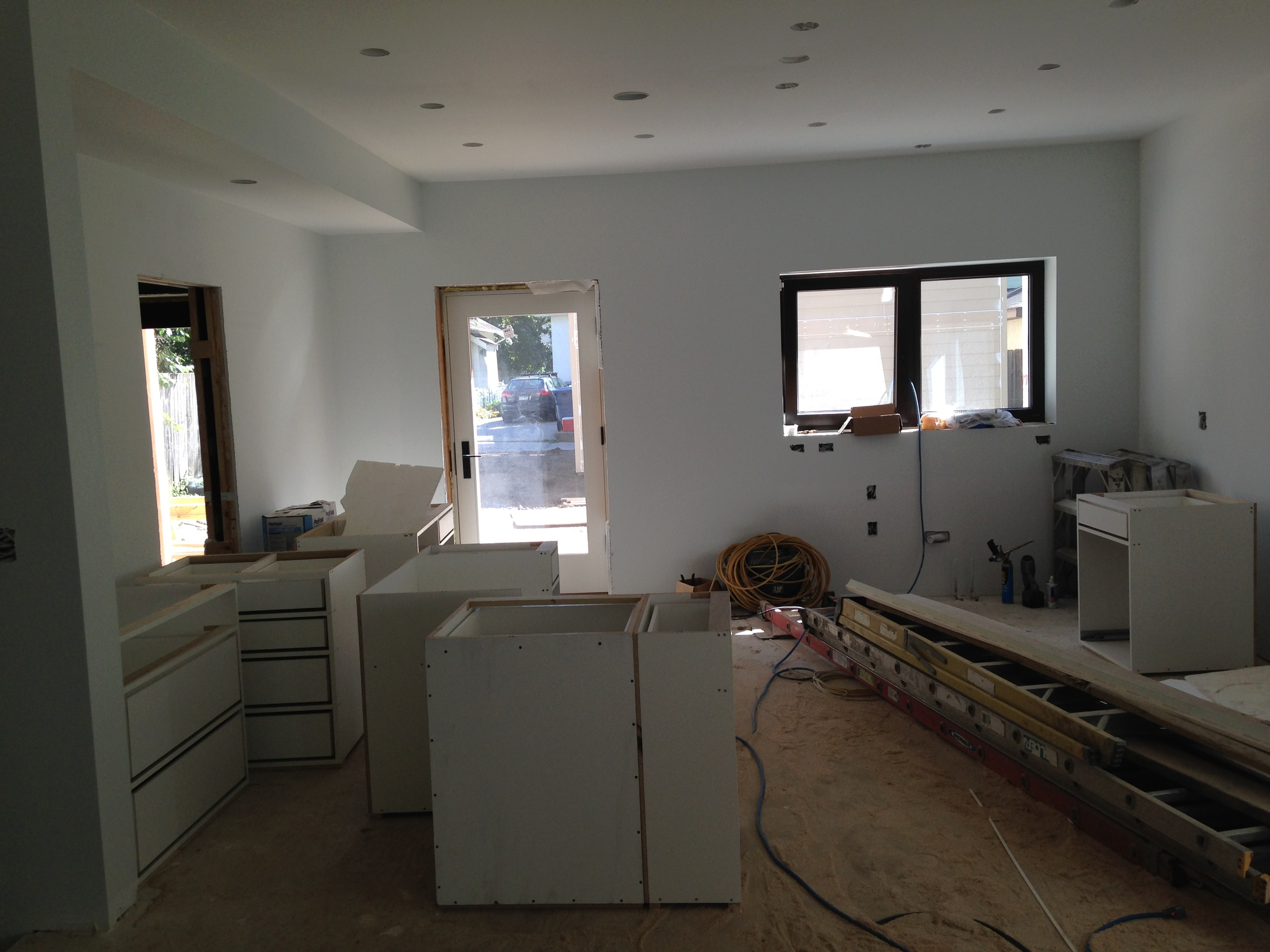 Looking toward the kitchen area of the main room