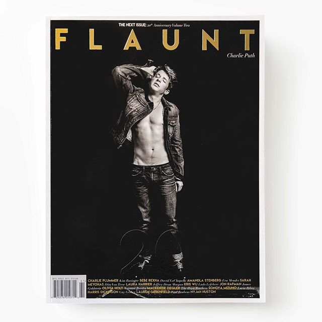 Charlie Puth for The Next Issue: 20th Anniversary Volume Two  Photographed by Max Montgomery: @instamaxmonty Styled by Joseph Episcopo: @joseph.episcopo Groomed by Jayson Stacy: @jaysonstacy Stylist Assistant—Kyle Hayes Wearing @edwin_japan  @charlieputh #flauntmagazine #flaunt #flaunt20  #thenextissue #161 #charlieputh @dior #dior #diorhomme #coverstar #voicenotes #atlantic atlanticrecords #puther