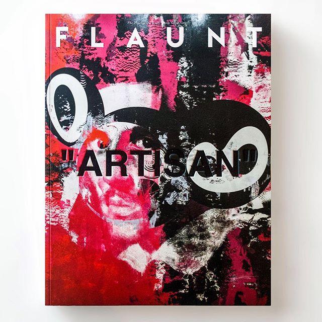 Long overdue... @FLAUNTMAGAZINE THE TRANSIENCE ISSUE  Art cover by Virgil Abloh and Takashi Murakami  @TakashiPom @VirgilAbloh  #FlauntMagazine #Flaunt #TheTransienceIssue #163 #2018 #virgilabloh #takashimurakami #americatoo #Gagosian @gagosian #murakamiandabloh
