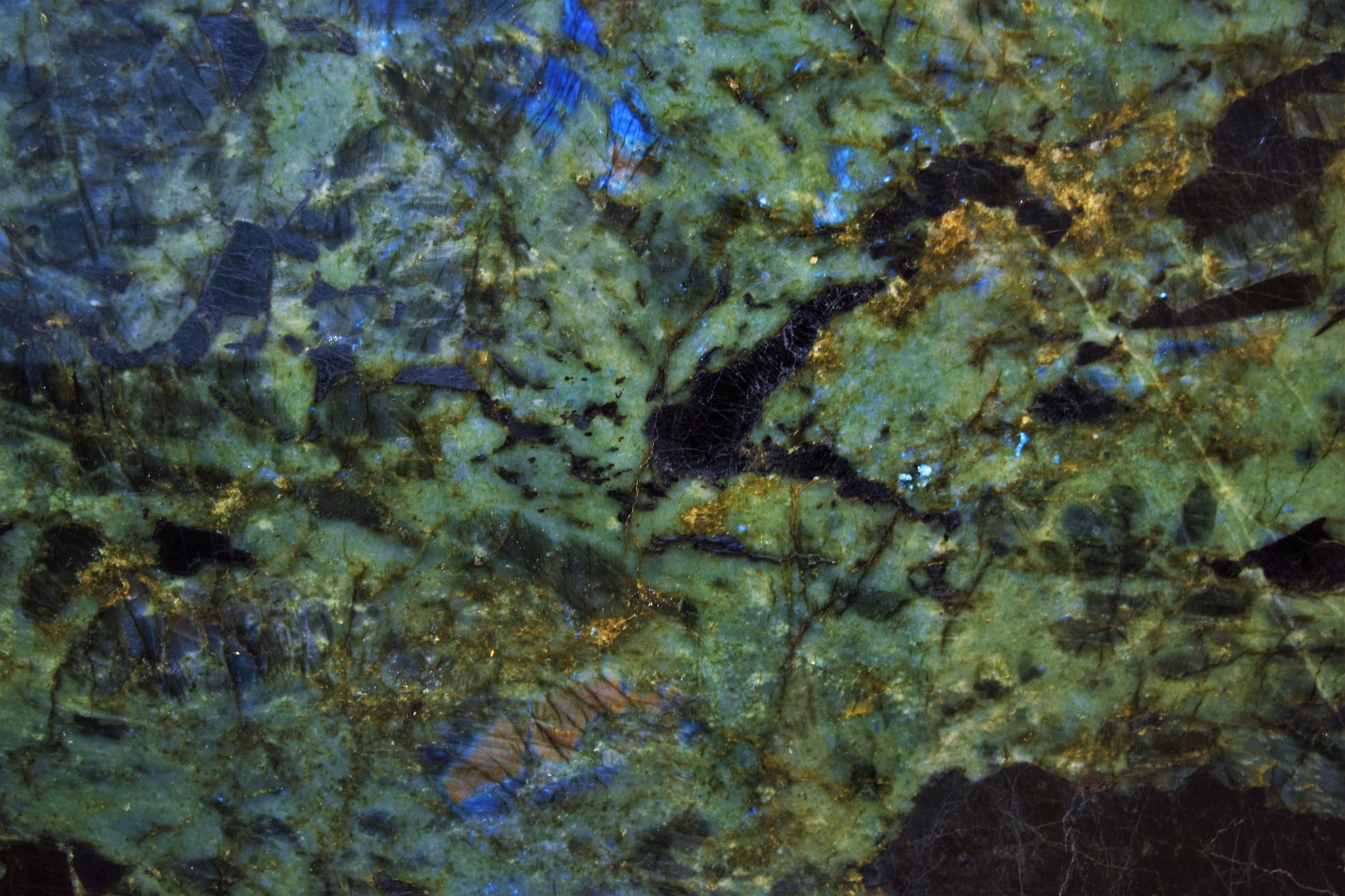 Labradorite Lumerian Blue