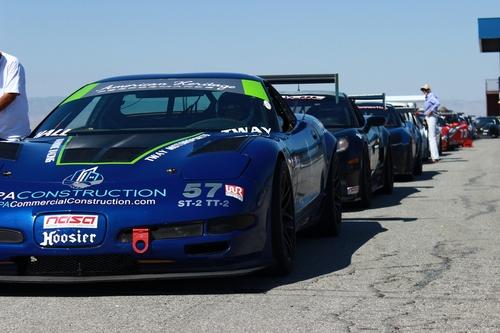 The PA Construction Corvette ready to set pole.