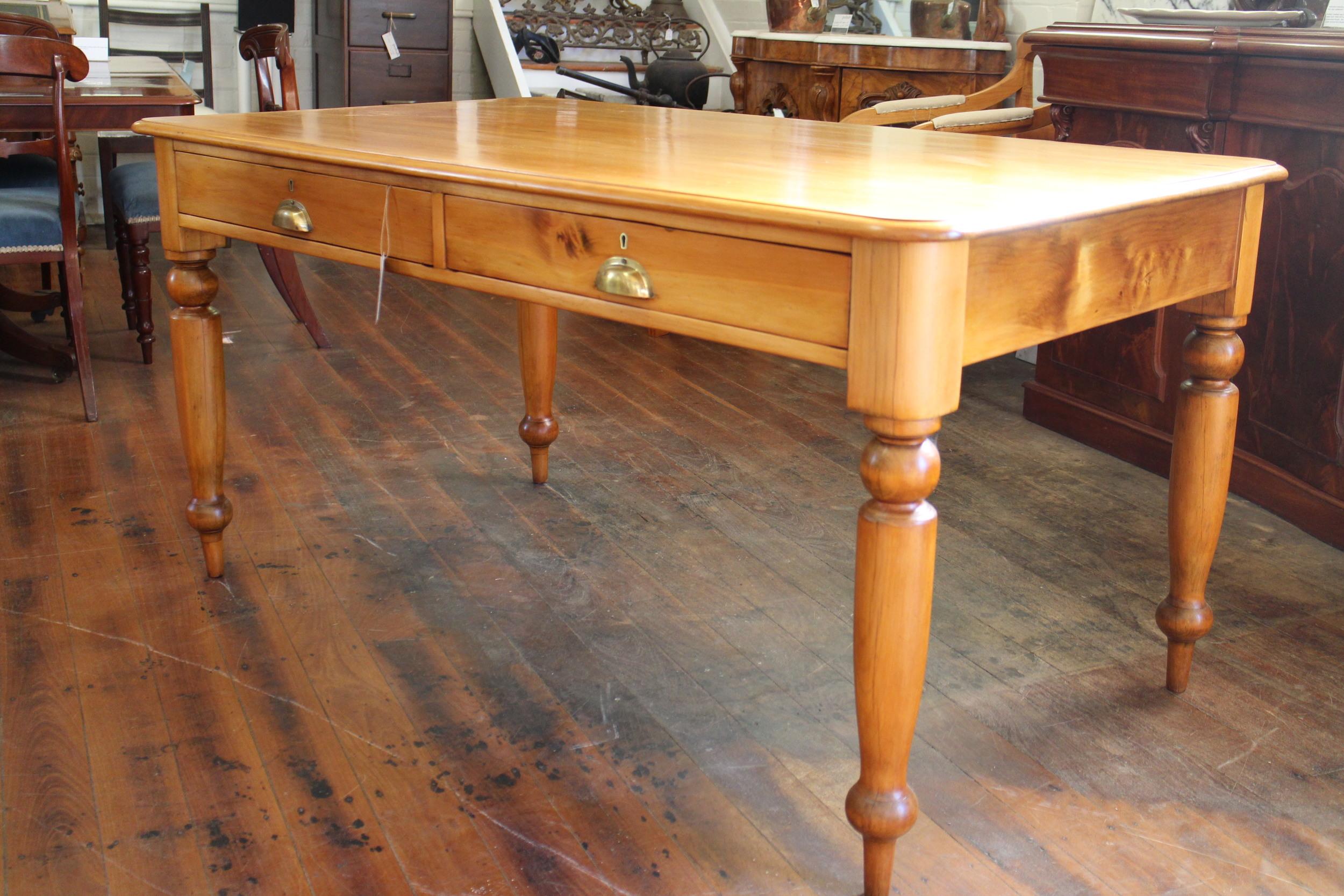 antique hoop pine desk.jpg