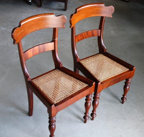 antique cedar dining chairs.jpg