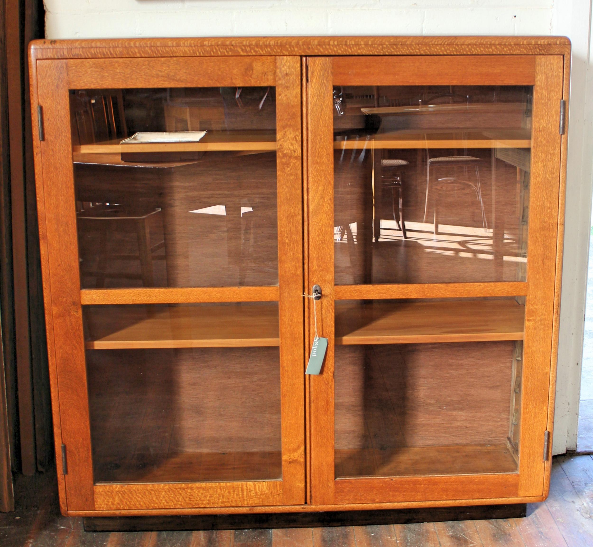 Antique Silky Oak Bookcase 2 .jpg