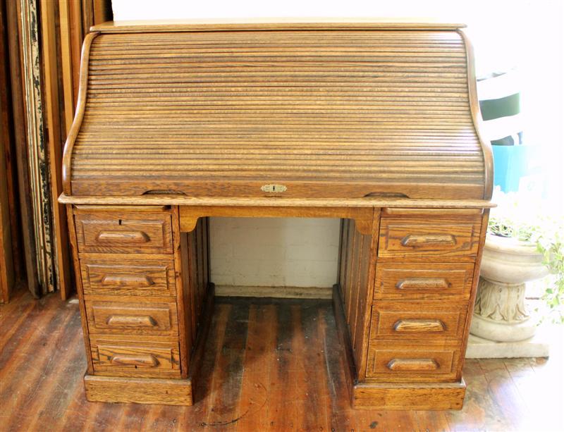 Antique Roll Top Desk  polish bangalow.jpg