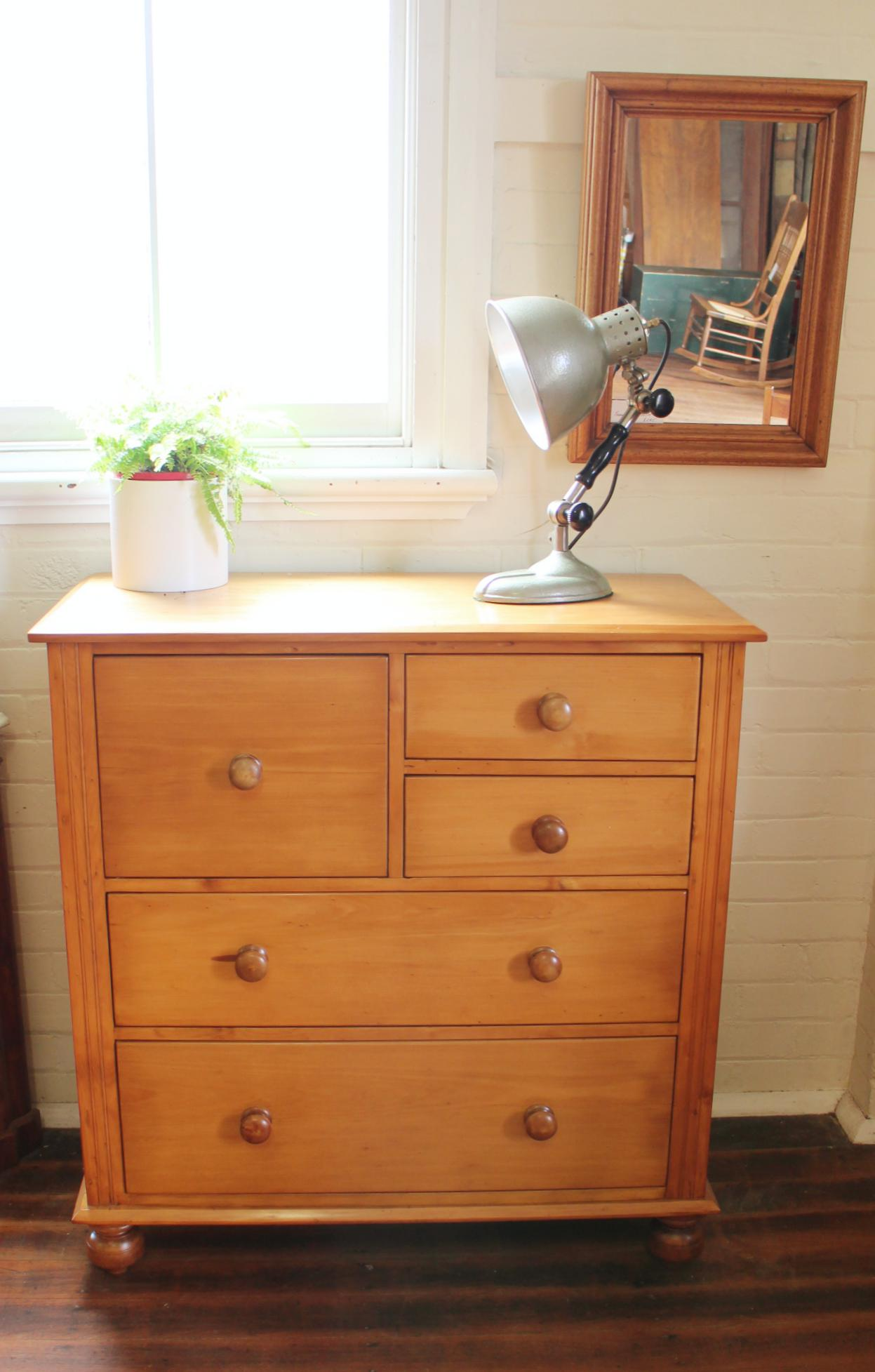 Antique Hoop Pine Chest of Drawers.jpg