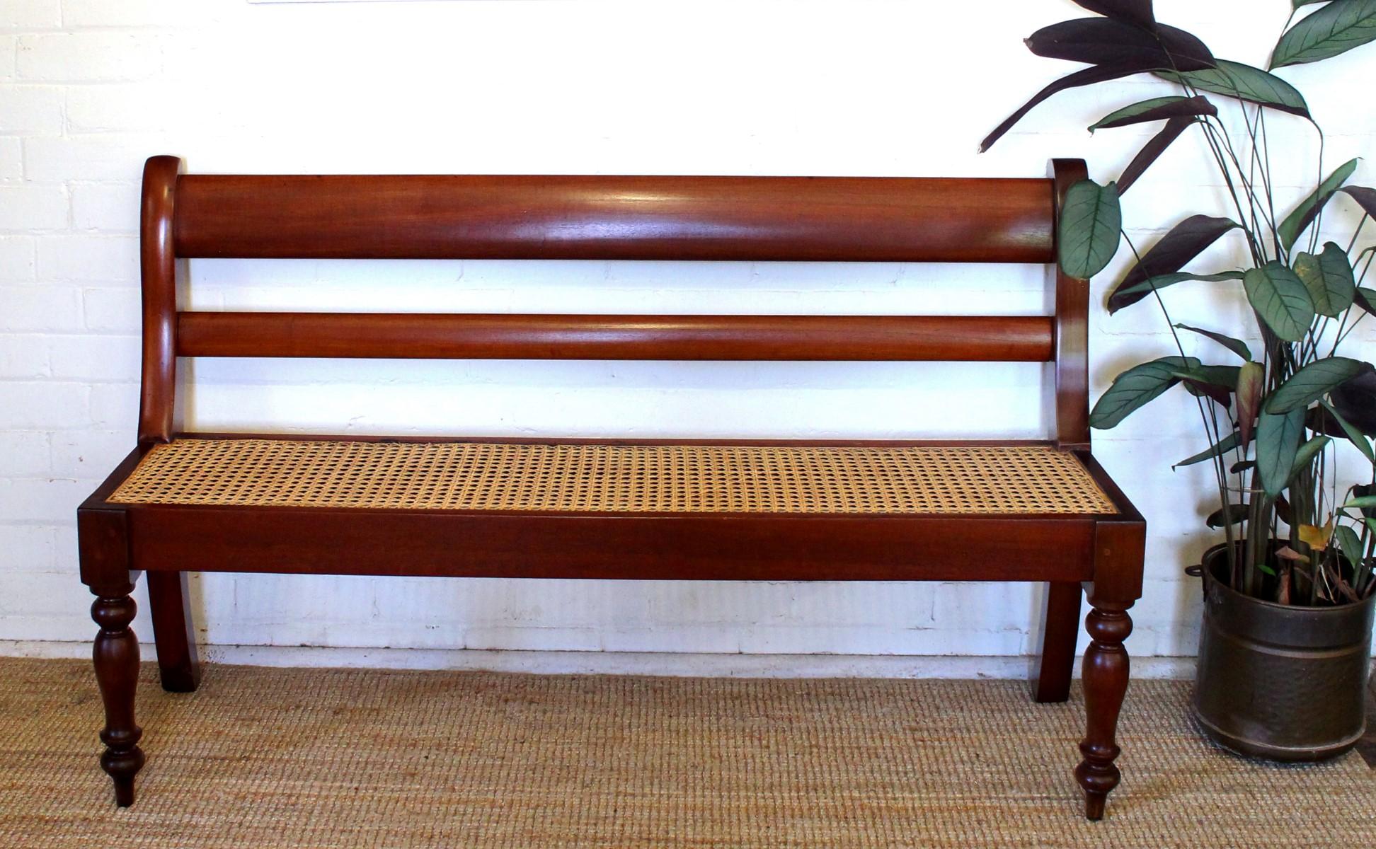 Antique Australian Cedar Bench Seat.jpg