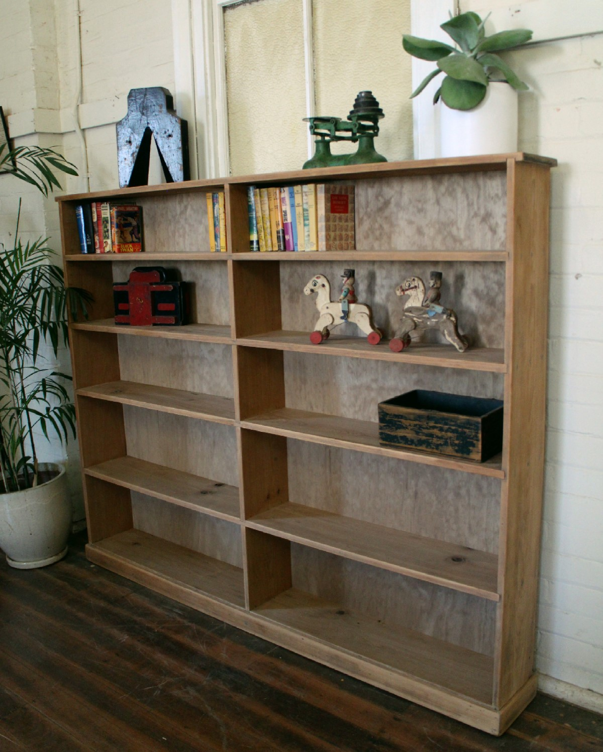 Antique Pine Bookcase.jpg