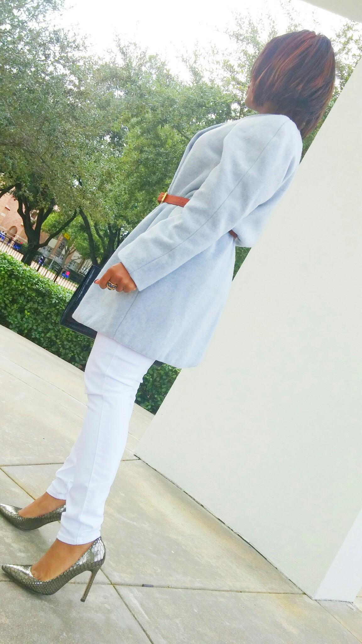 Belt:DIY  Coat: DIY