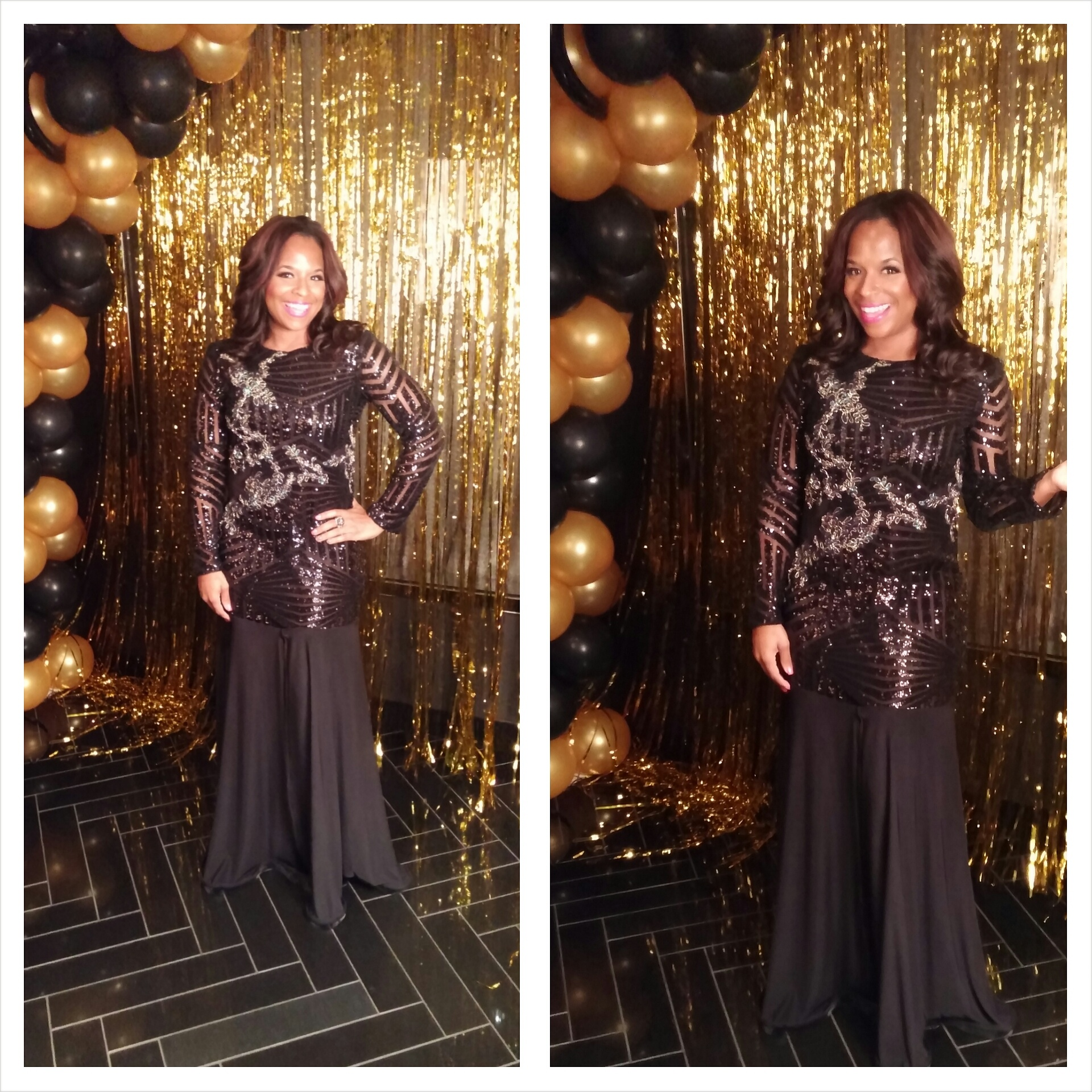 Dress for Hollywood Prom 2015. Dress by www.3degreesdb.com