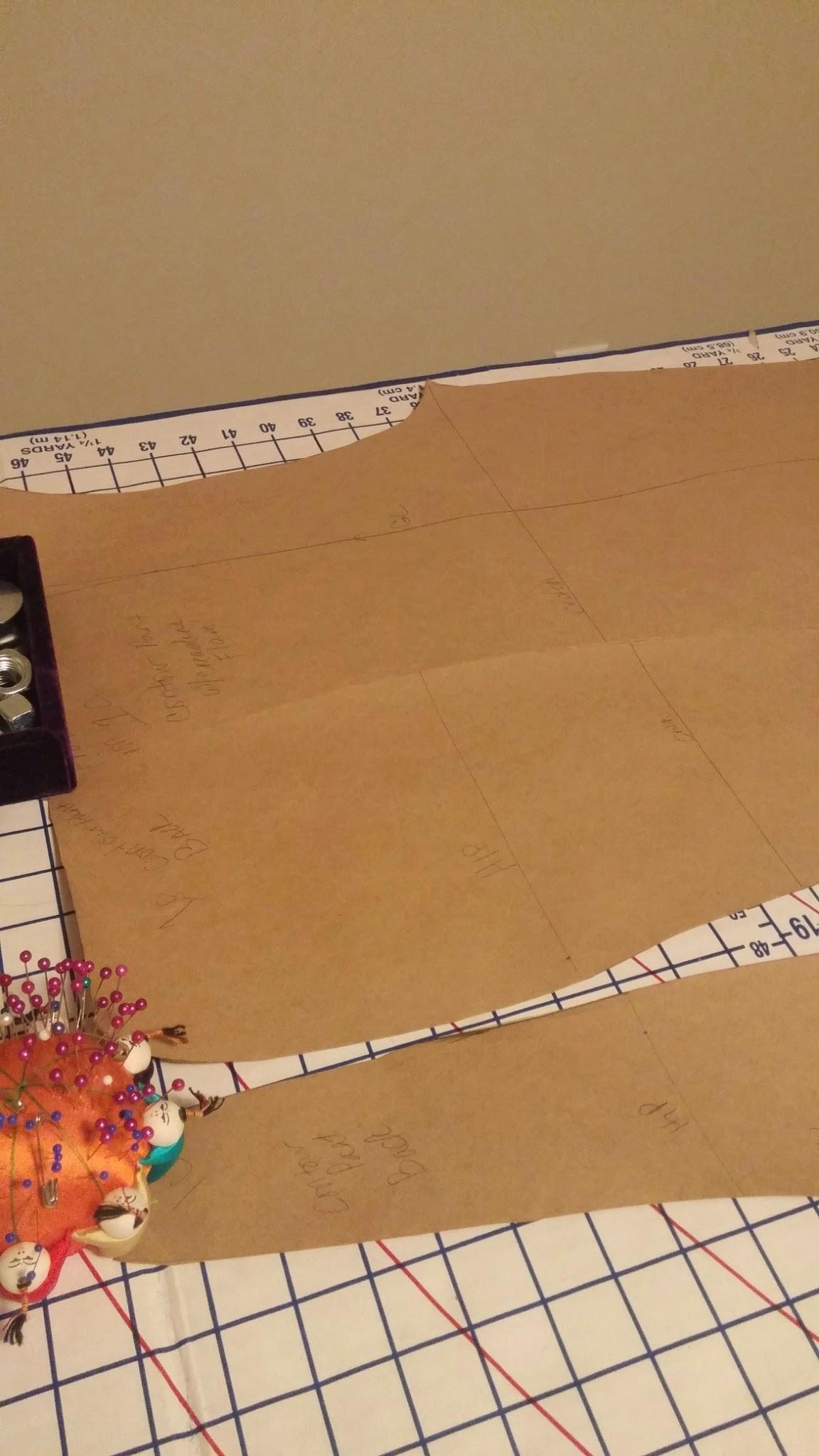 DIY: Contoured Flare Pants