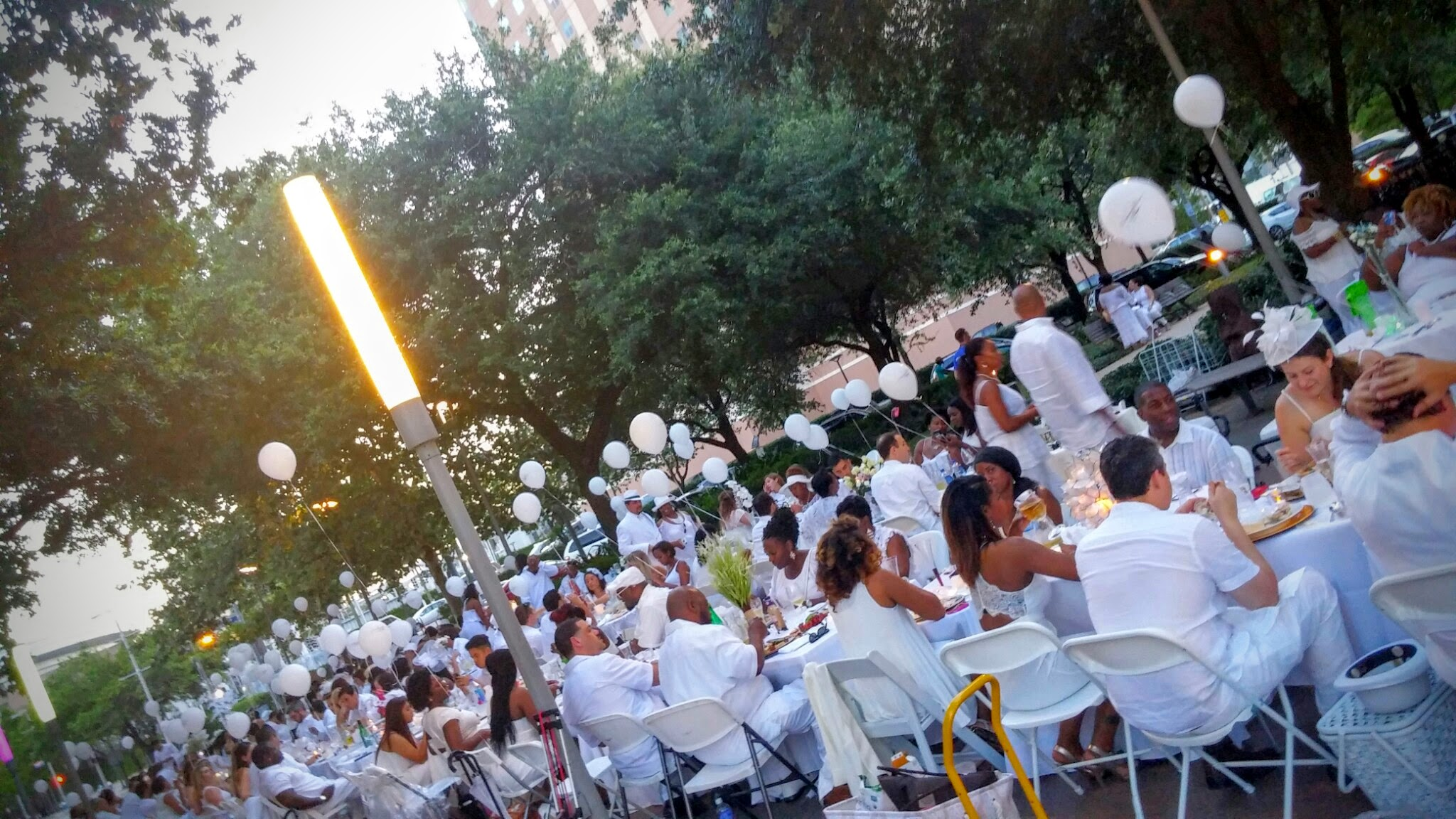 2015 Secret location: Discovery Green - Downtown