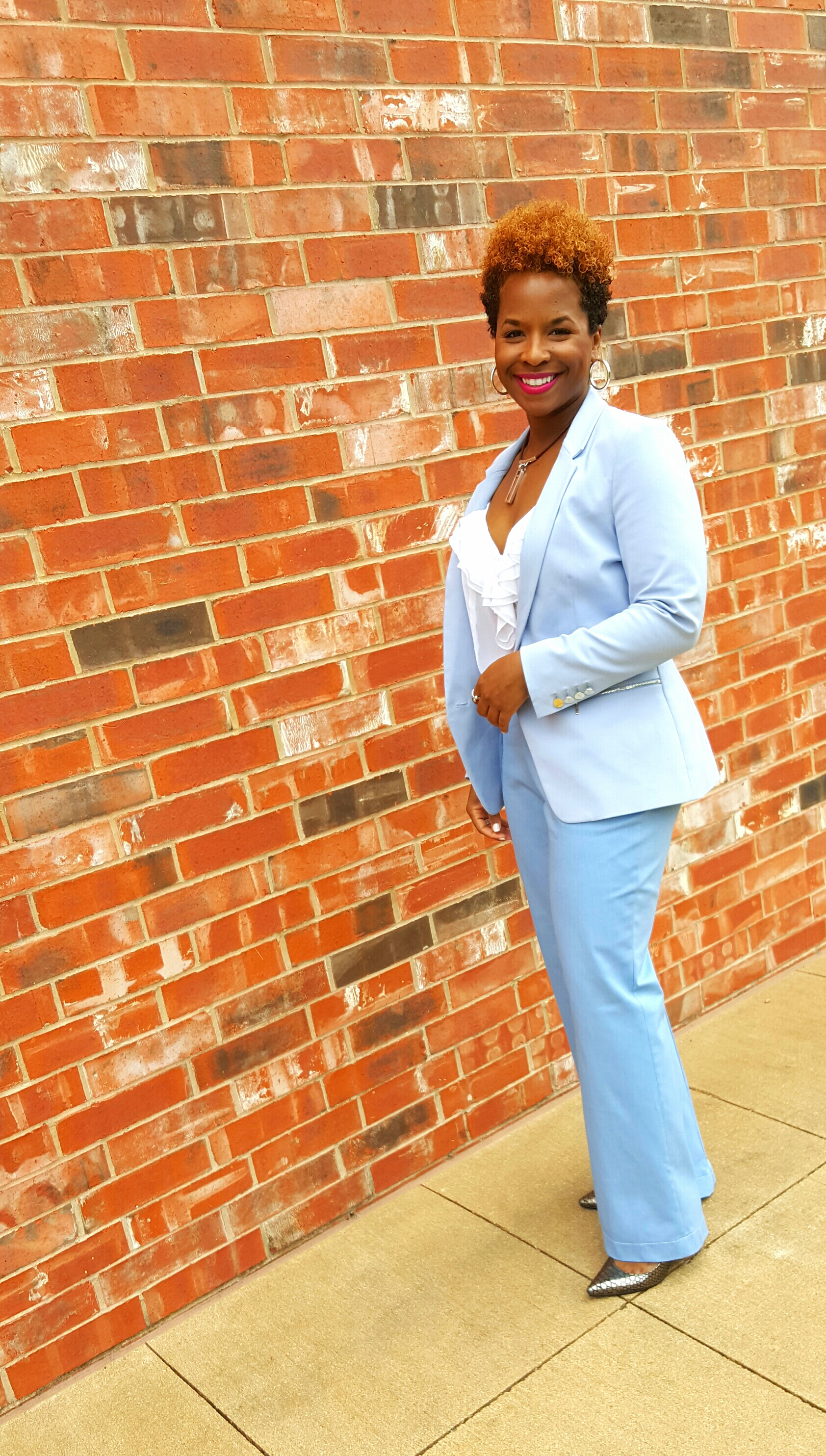 Style Changes to DIY Flare Pants on www.3DegreesDB.com