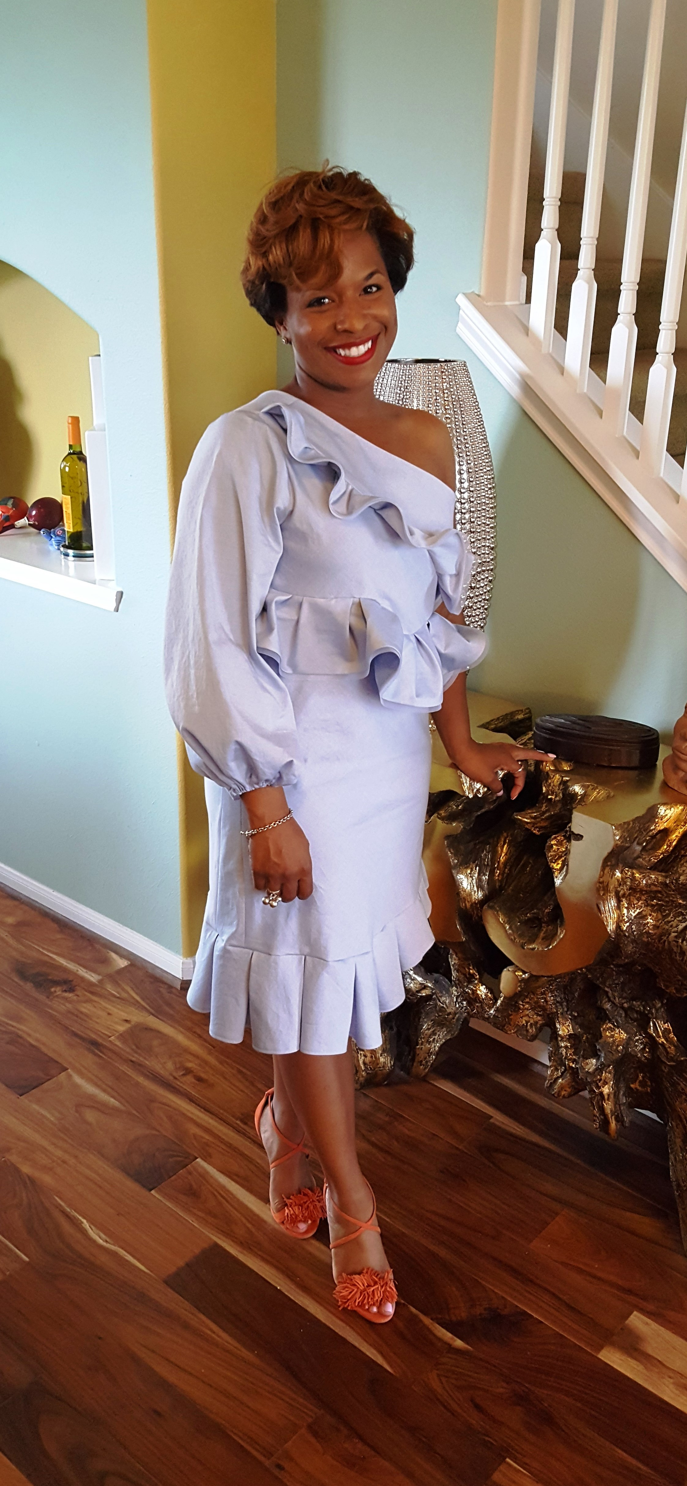 DIY Chambray Dress with McCalls 6562