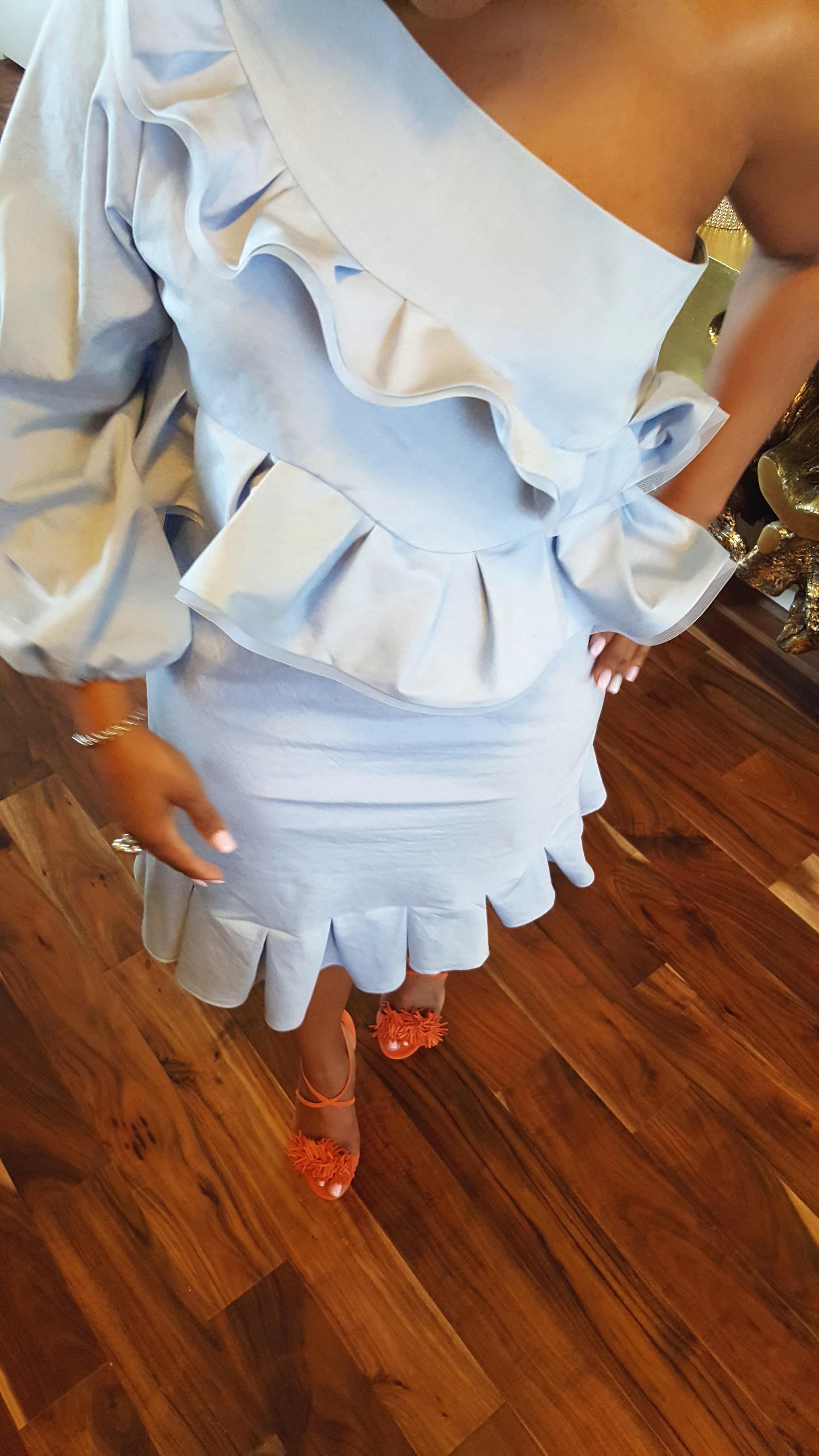 DIY Chambray Dress McCalls 6562