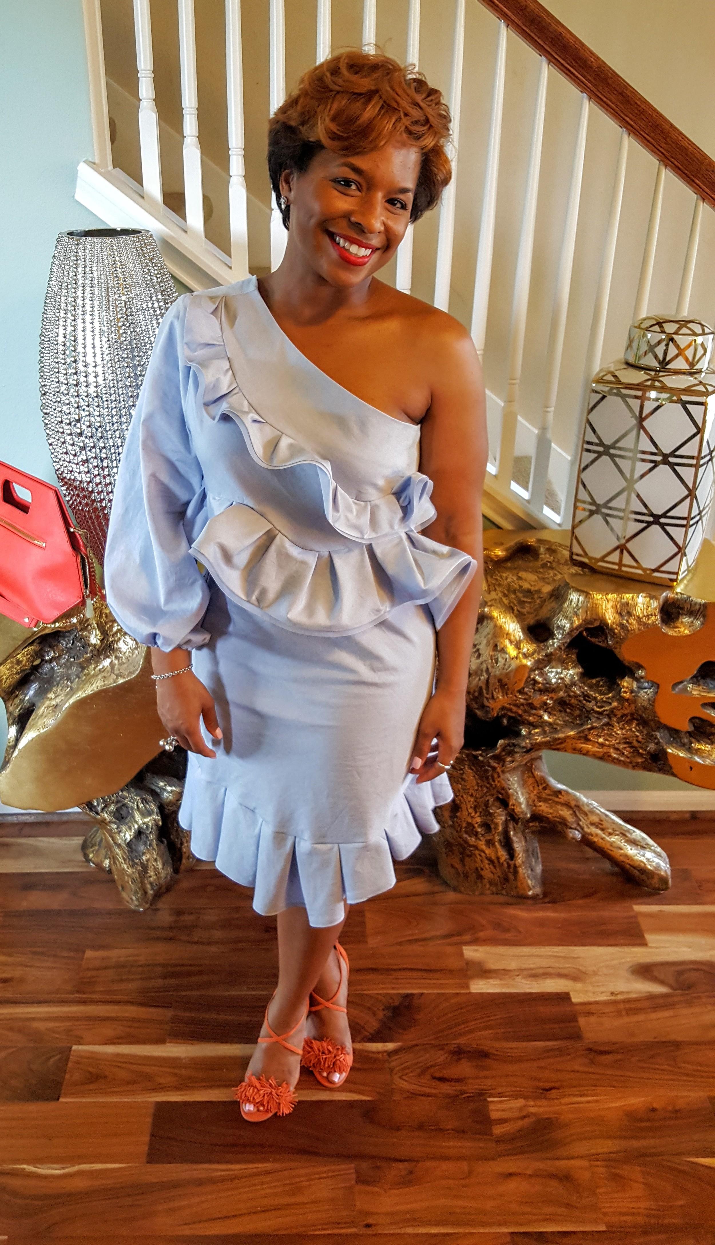 DIY Dress from McCalls 6562