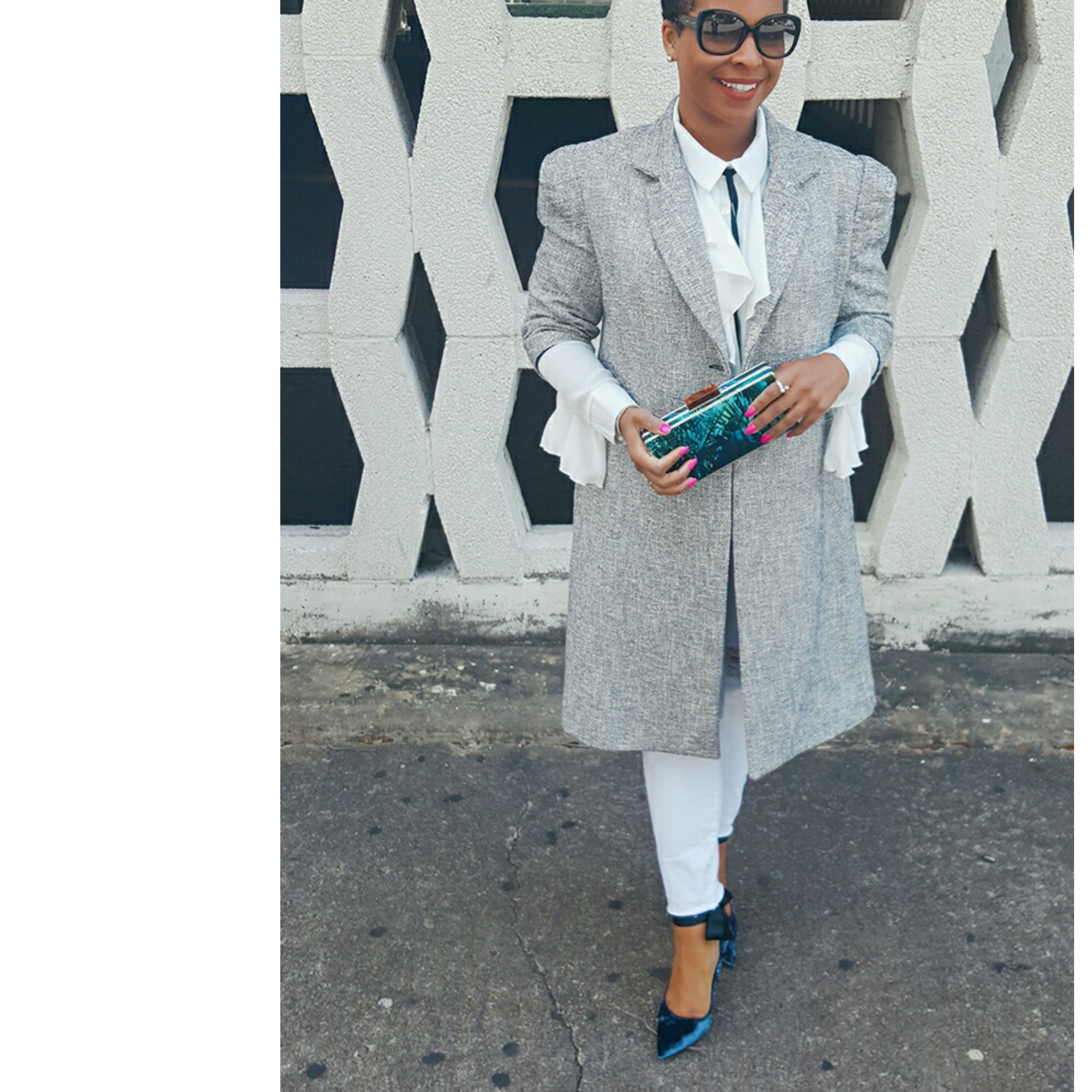 Tweed Coat. Vogue 8841 on 3DegreesDB.com