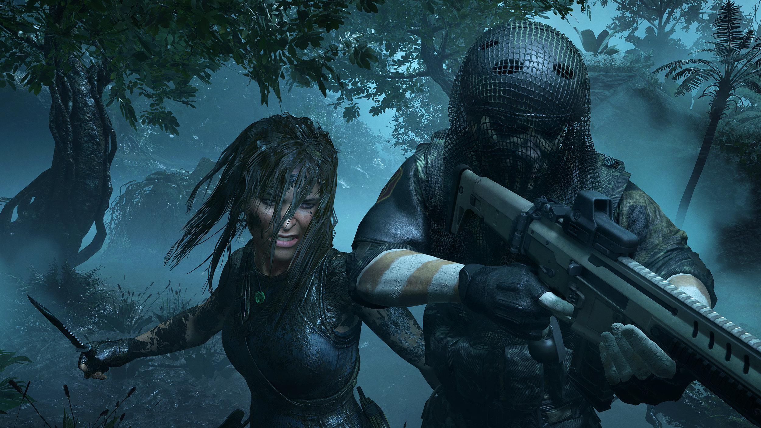 On le voit sur son visage, Lara tue par plaisir maintenant.