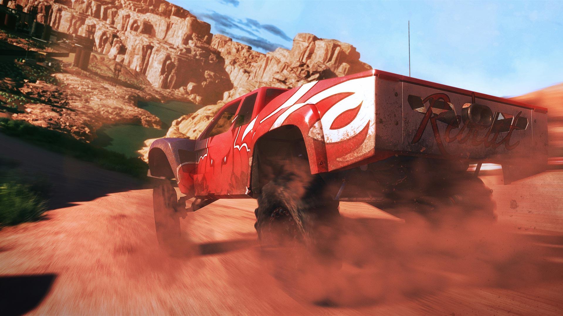 Le jeu varie les tracés, les types de courses et les véhicules
