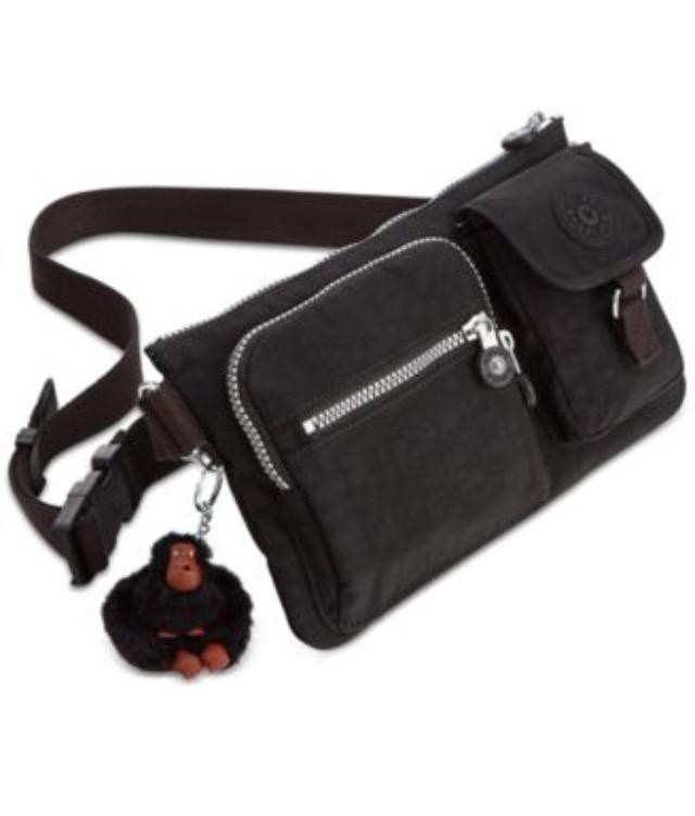 Double zipper fanny pack